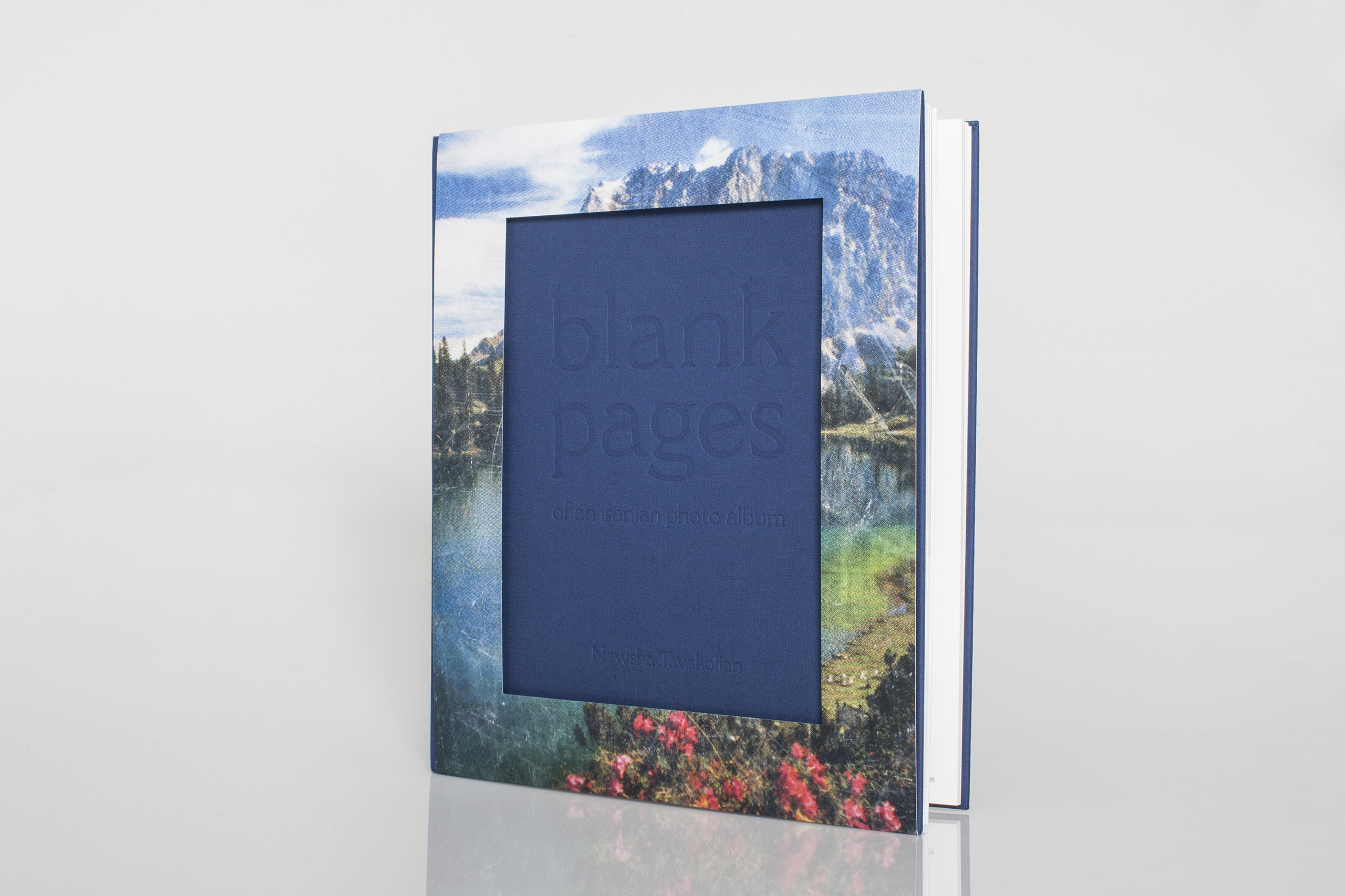 Blank Pages - Of an Iranian Photo Album  by Newsha TavakolianPublished by Kehrer Verlag