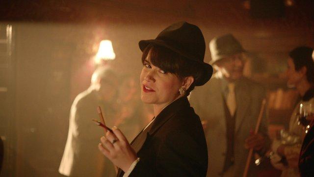 Abbi Jacobson as Abbi Abrams in Broad City.
