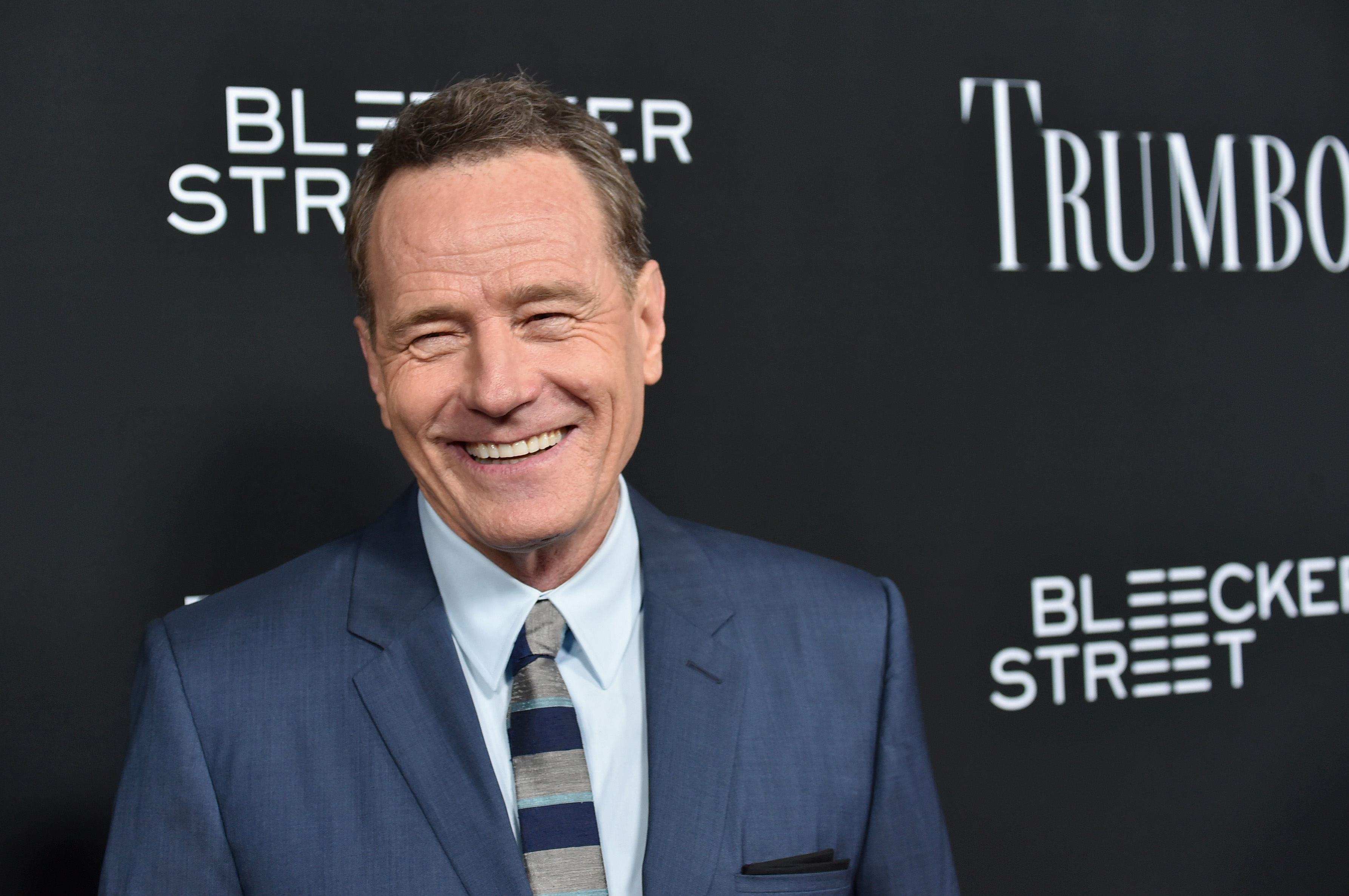 Bryan Cranston attends the premiere of Bleecker Street Media's  Trumbo  at AMPAS Samuel Goldwyn Theater on October 27, 2015 in Beverly Hills, California.