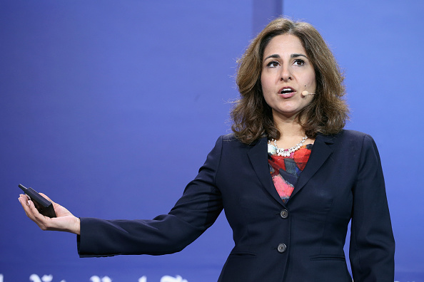 President and CEO of the Center for American Progress, Neera Tanden speaks on Sept. 17, 2015 in New York.