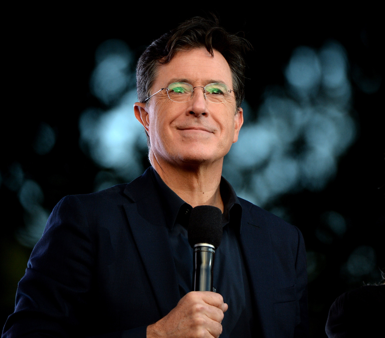 Stephen Colbert in New York City on Sept. 26, 2015.