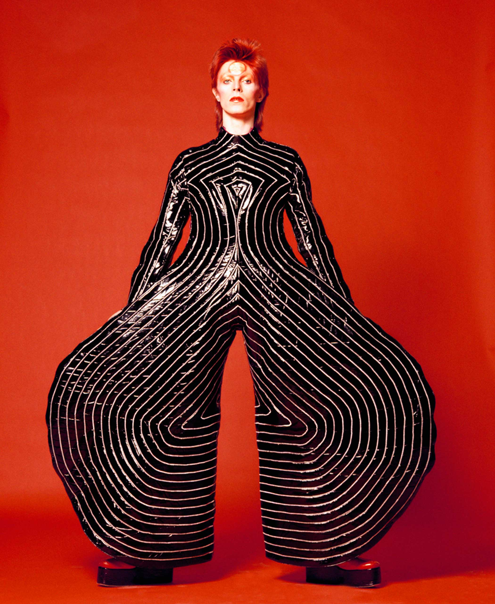 David Bowie,  Watch That Man III,  1973.