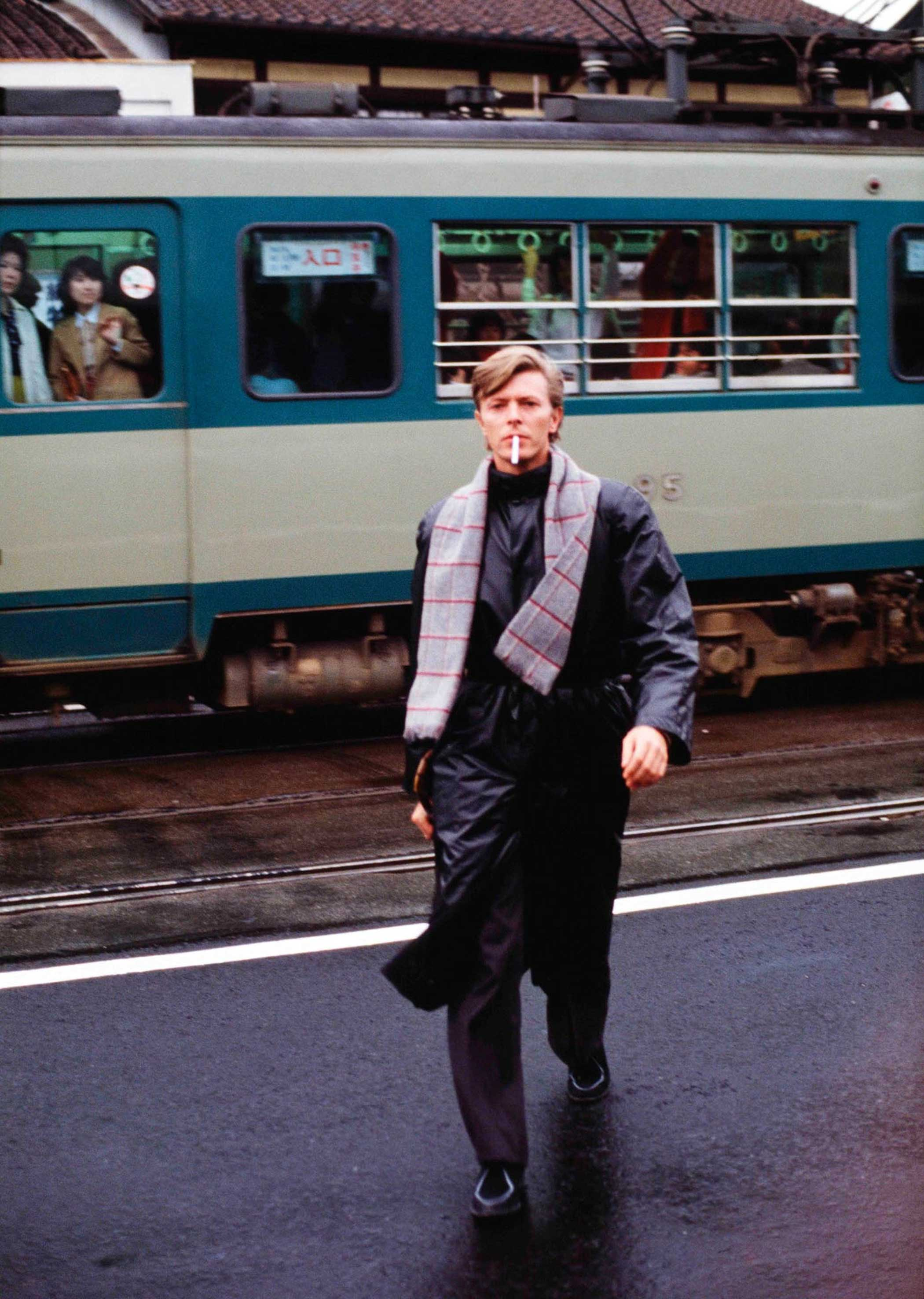 David Bowie,  A Day in Kyoto 3- Platform,  1980.