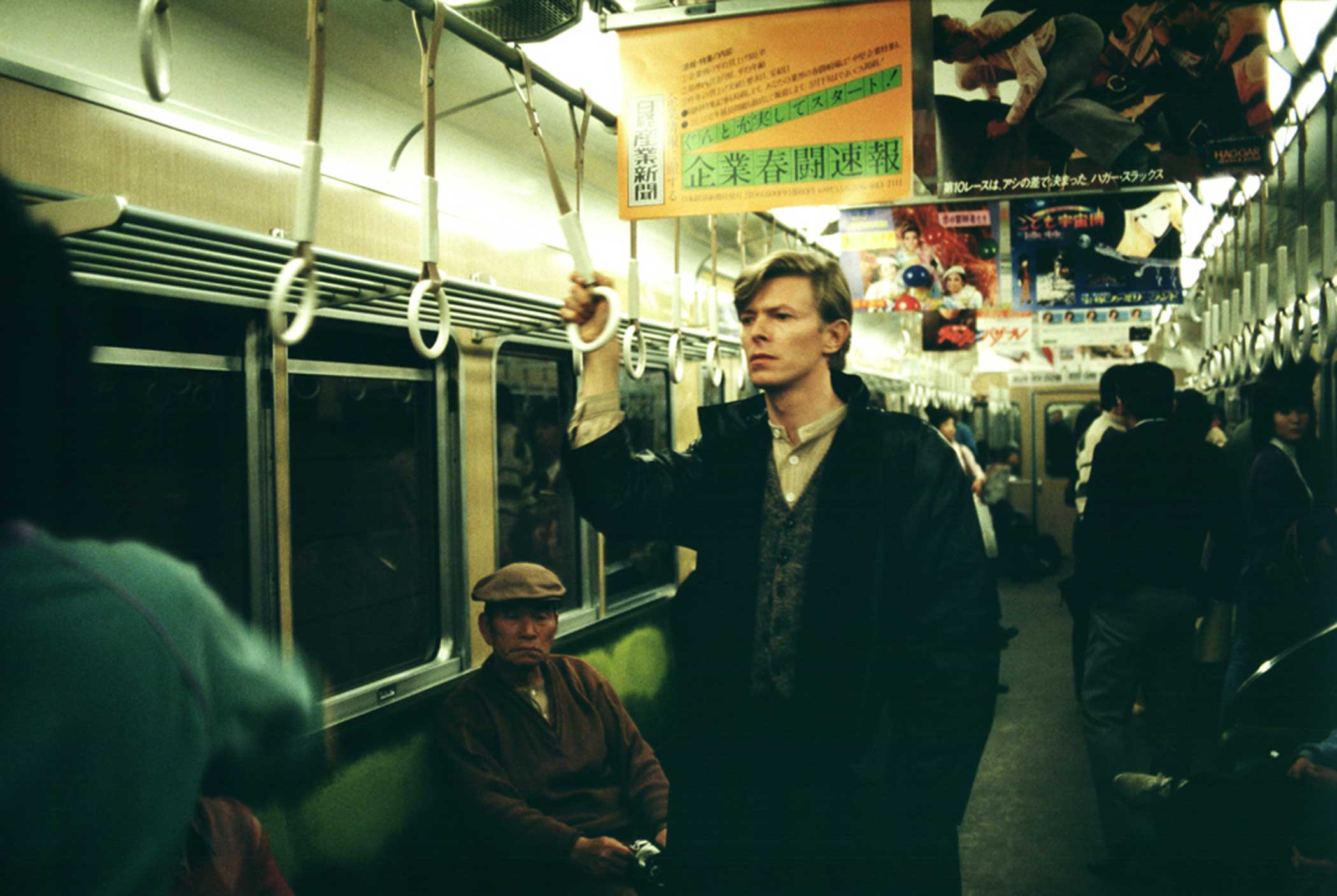David Bowie,  A Day in Kyoto 2- Hankyu Train,  1980.