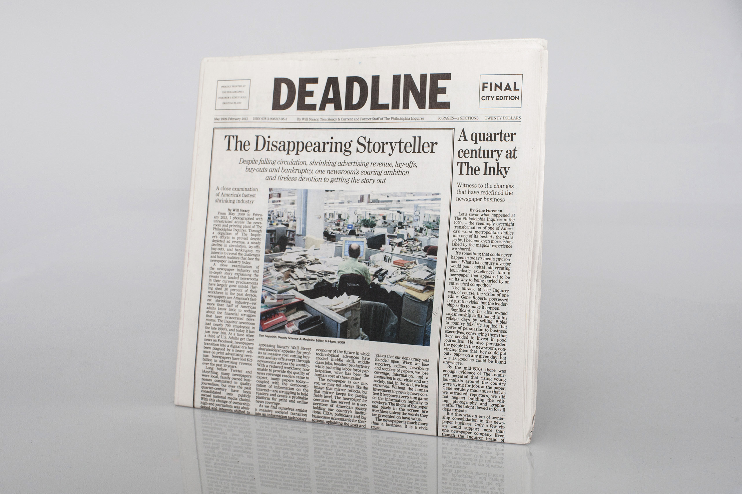 Deadline  by Will SteacyPublished by b.frank books