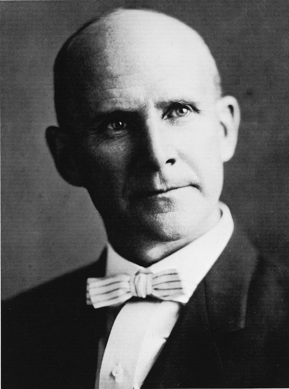 Portrait of American railroad unionist Eugene Debs (1855 - 1926)