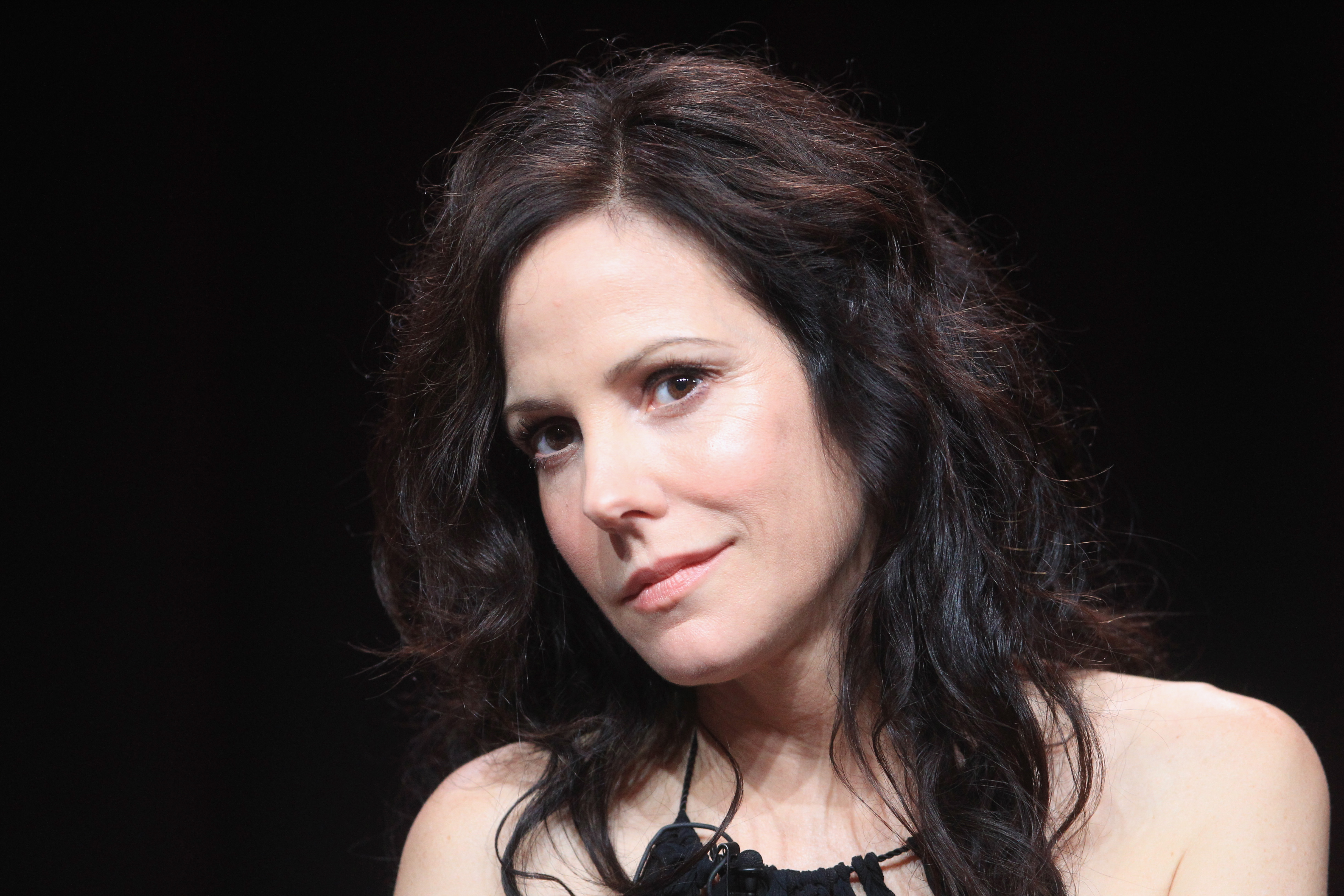 Mary-Louise Parker speaks onstage at the Independent Lens 'Soul Food Junkies' panel during day 1 of the PBS portion of the 2012 Summer TCA Tour held at the Beverly Hilton Hotel on July 21, 2012 in Beverly Hills, California.