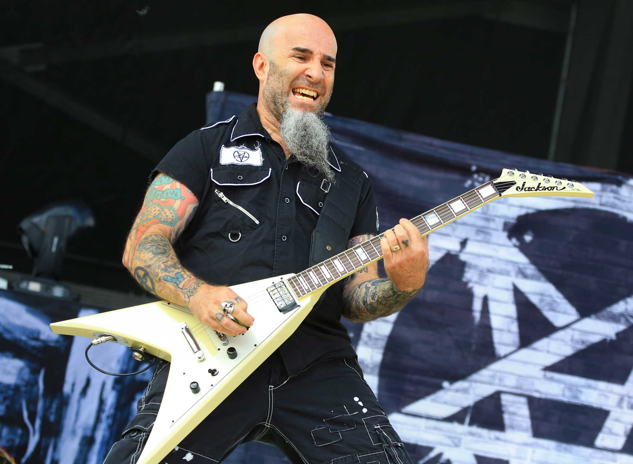 Anthrax's Scott Ian.