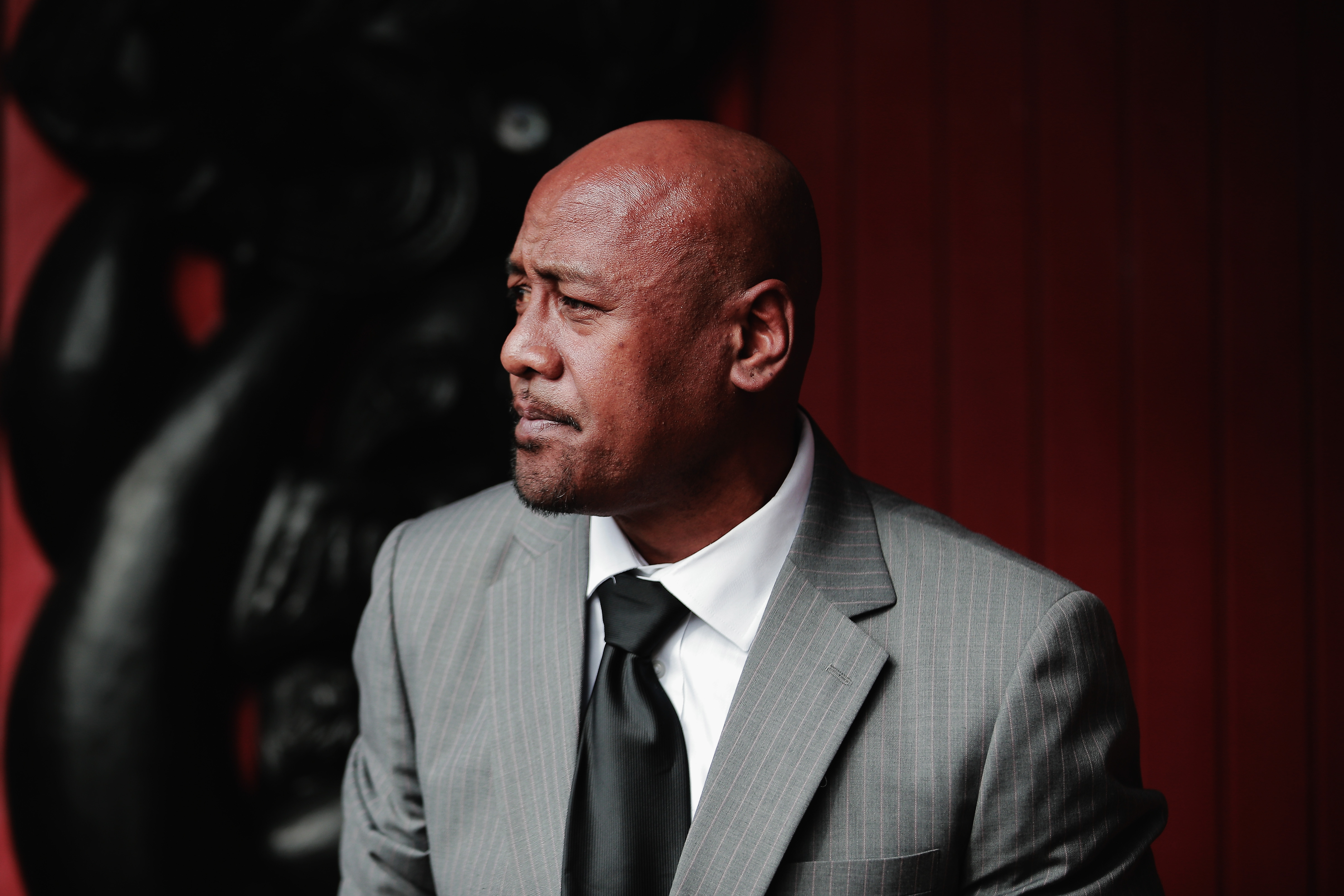 Jonah Lomu pictured on May 30, 2014, in Auckland