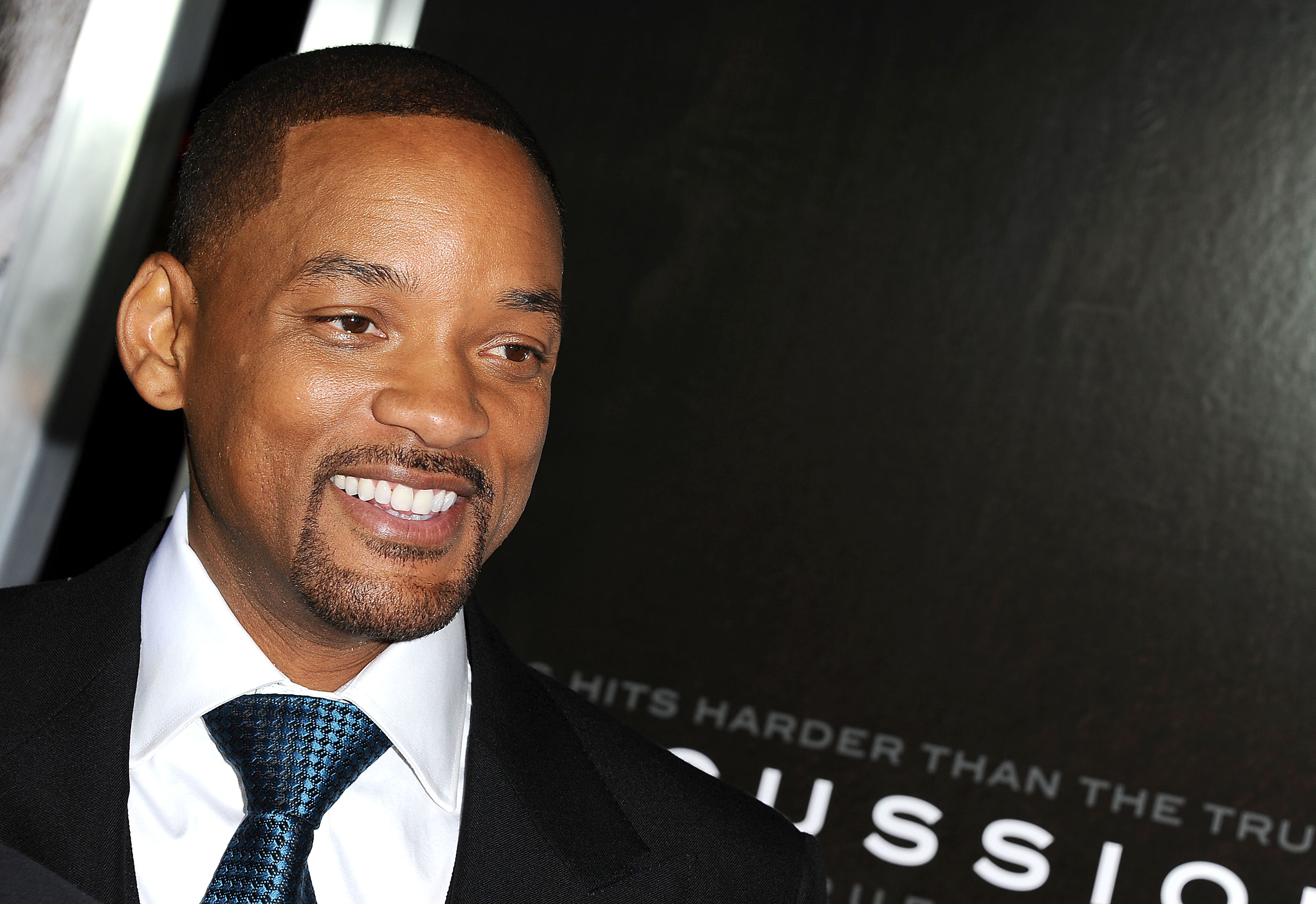 Actor Will Smith attends a screening of  Concussion  at Regency Village Theatre on November 23, 2015 in Westwood, California.
