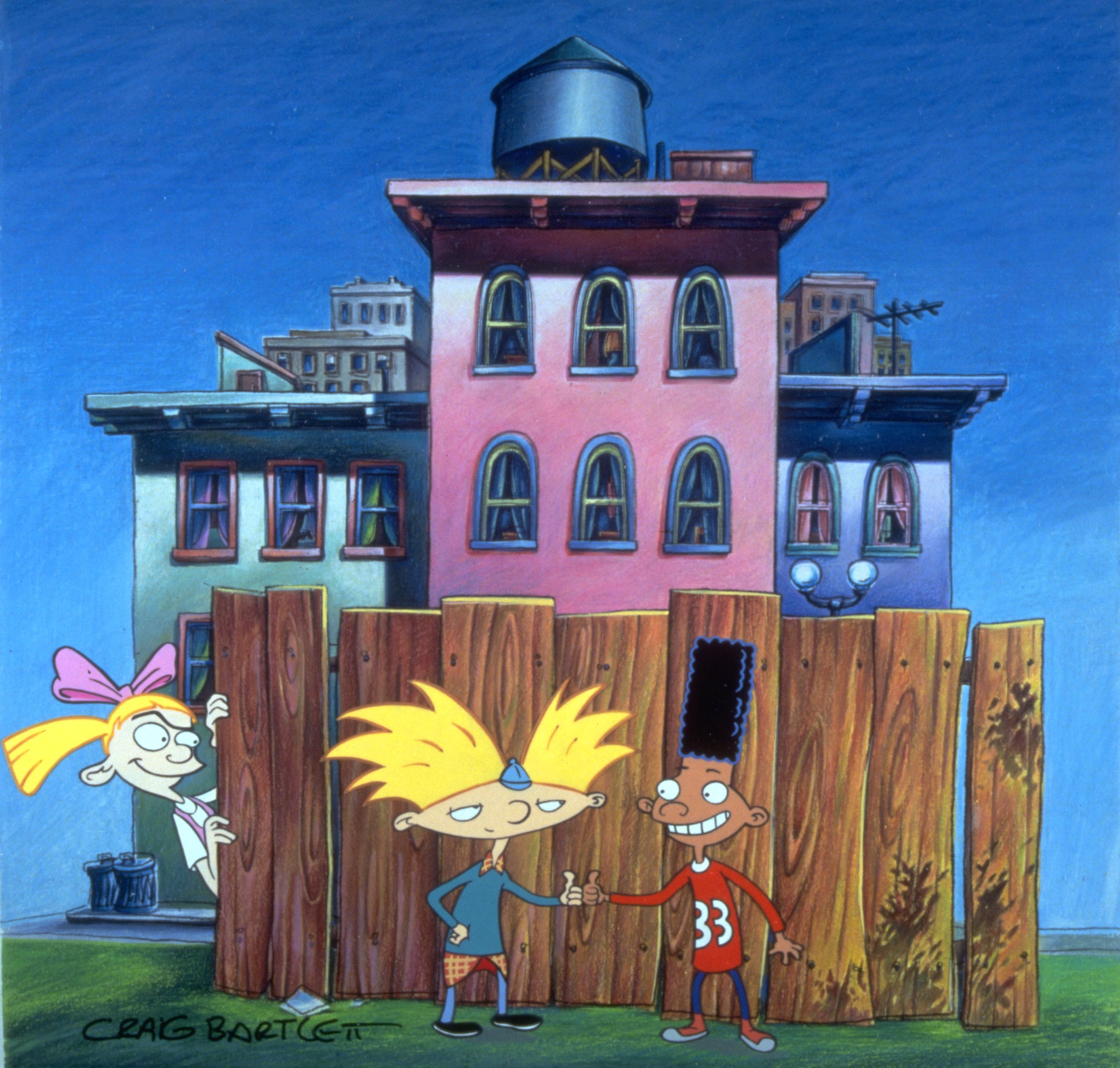Gerald Johannsen, Arnold and Helga G. Pataki in Hey Arnold!