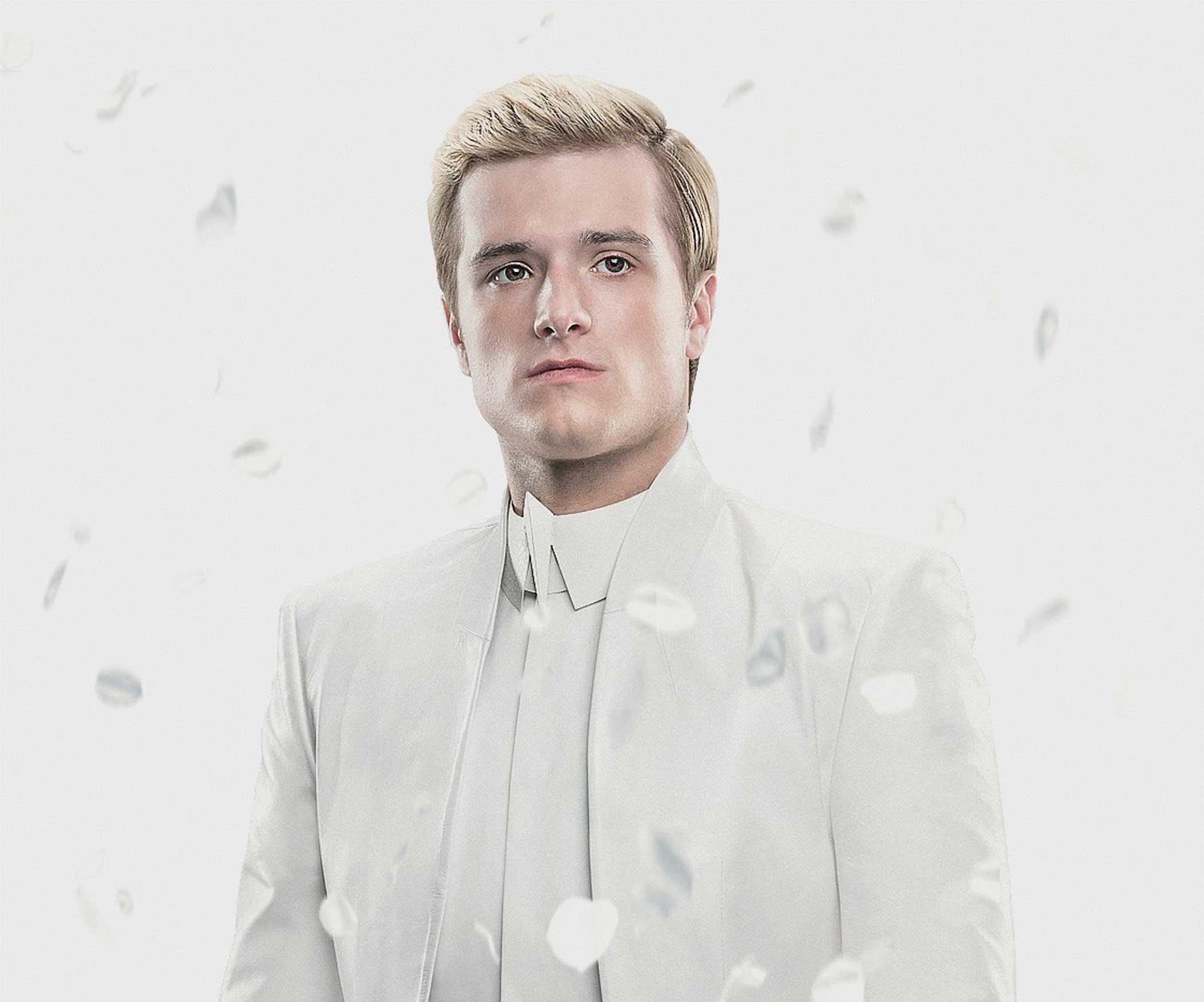 Josh Hutcherson as Peeta Mellark in The Hunger Games: Mockingjay – Part 1, 2014.