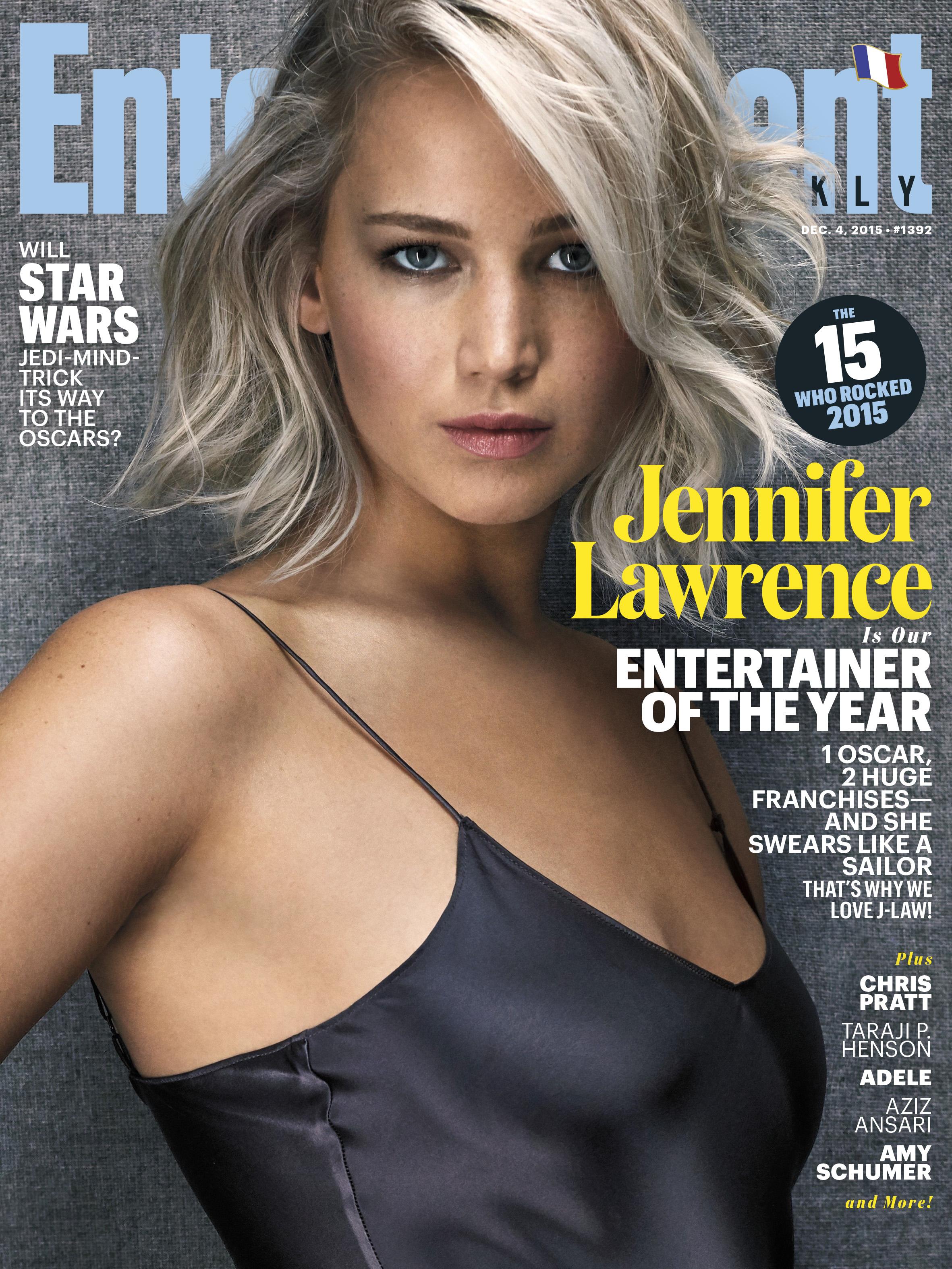 Jennifer Lawrence covers EW