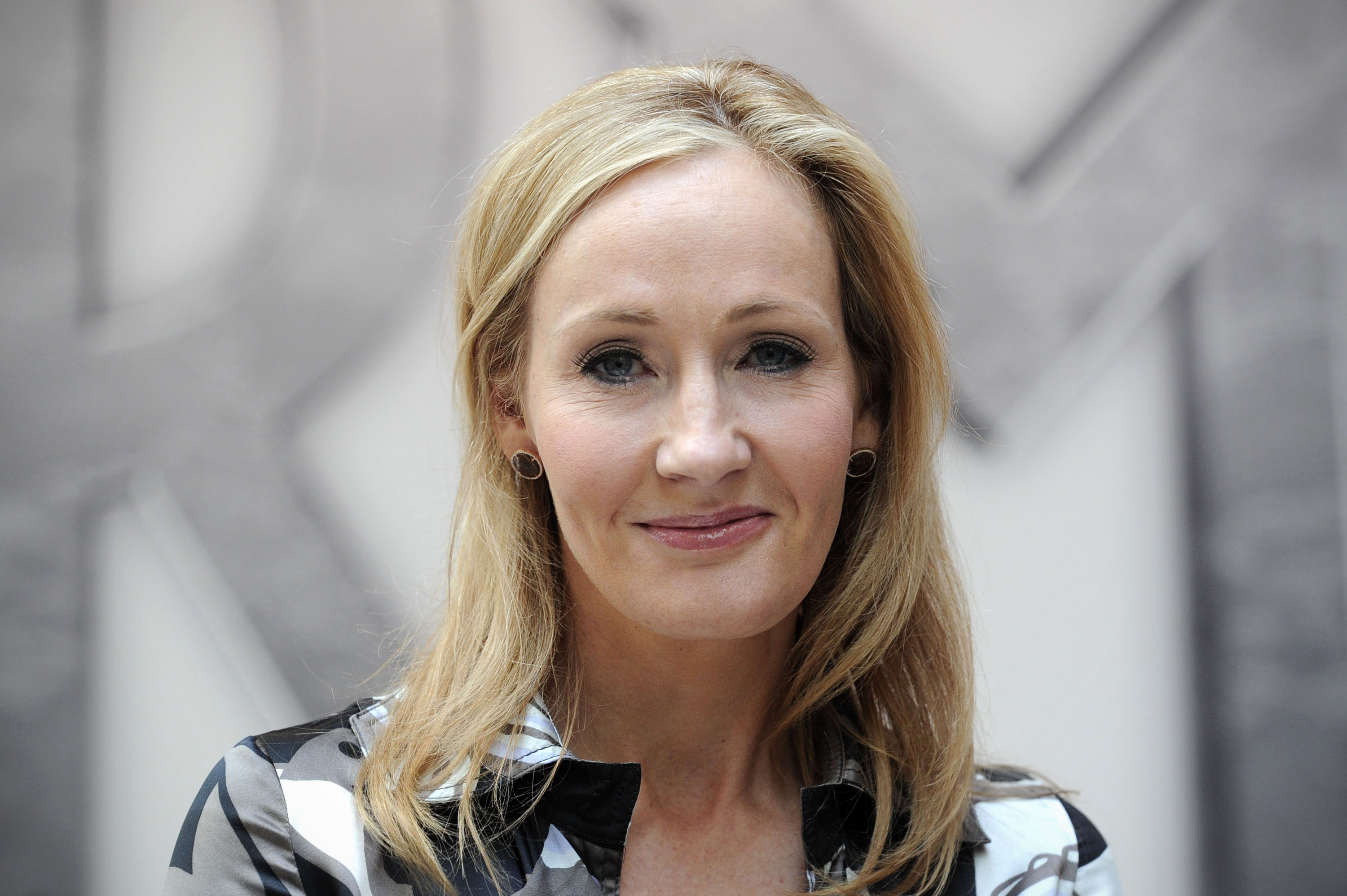 Harry Potter creator J.K. Rowling poses for photographers in central London, on June 23, 2011.