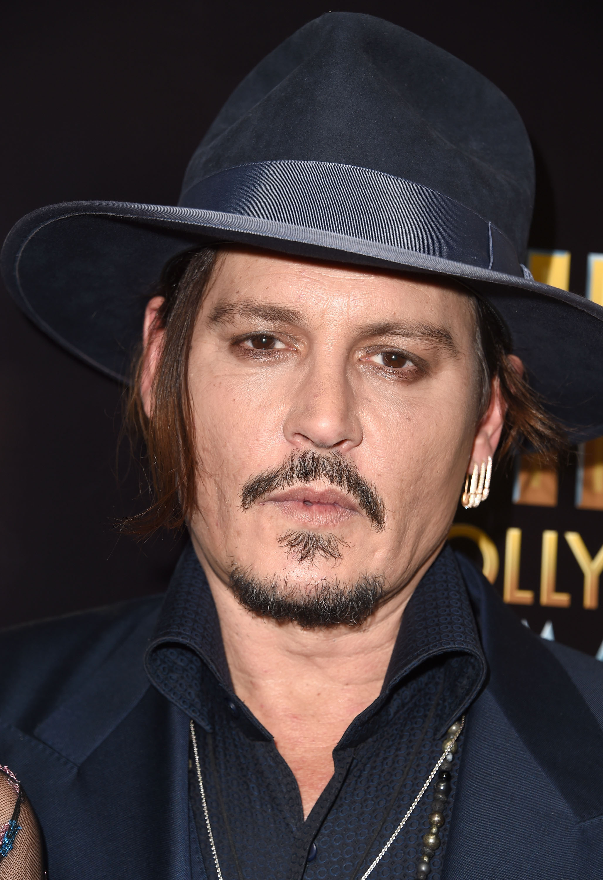 Johnny Depp at the 19th Annual Hollywood Film Awards in Beverly Hills on Nov. 1, 2015.