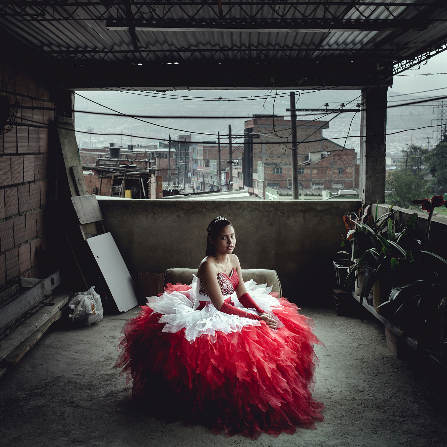 From the series  Quinceañera à Bogotá.