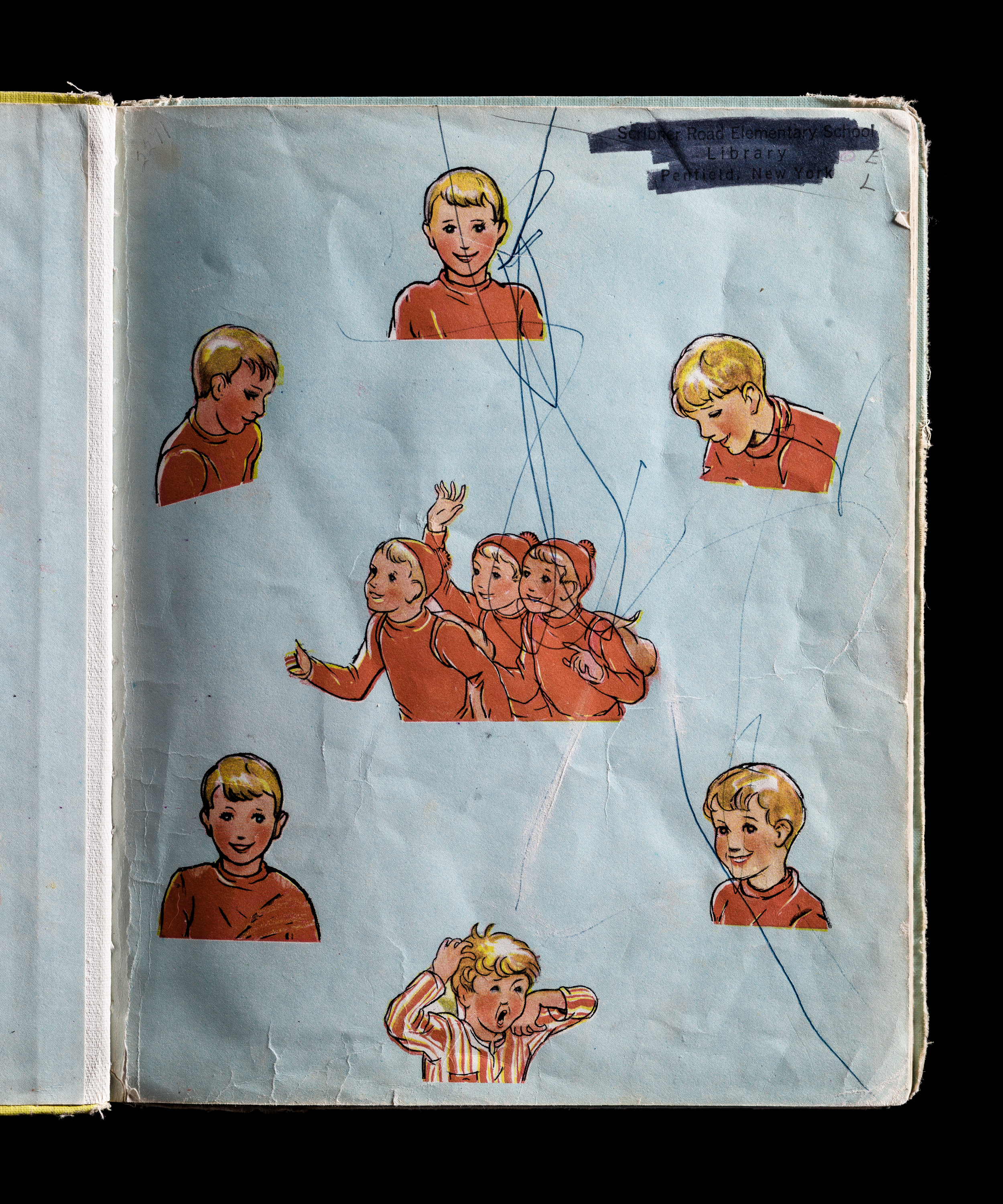 Snipp, Snapp, Snurr and the Yellow Sled, Interior Right Page