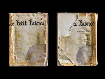 The Little Prince, Covers Front & Back