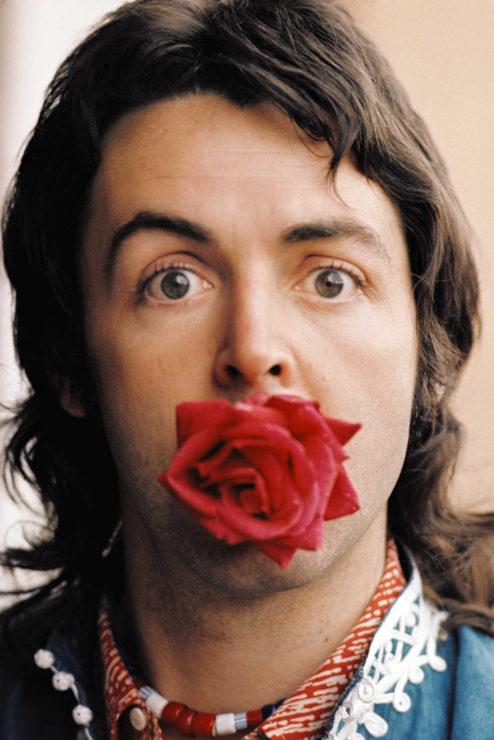 Paul With Rose, Marrakesh, 1972