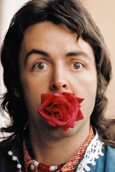 Paul With Rose, Marrakesh, 1972