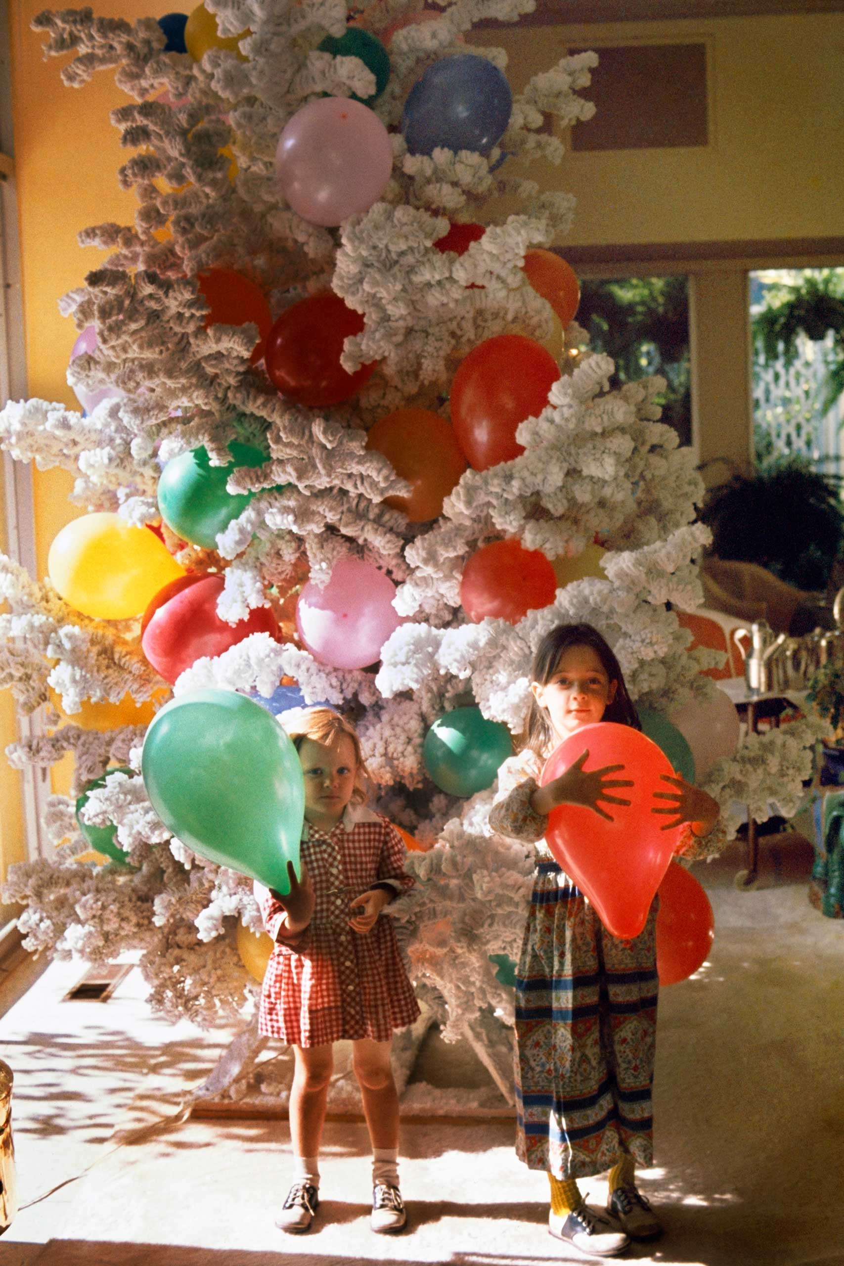 Peggy Lee's Christmas Tree, California, 1974