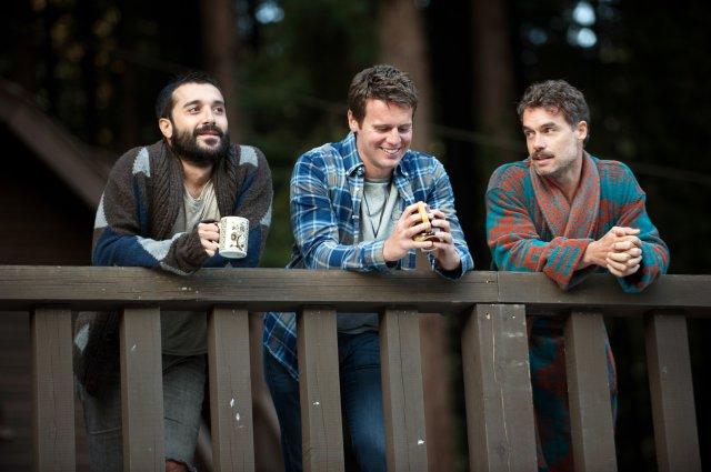 From left: Frankie J. Alvarez as Agustín Lanuez, Jonathan Groff as Patrick Murray, Murray Bartlett as Dom Basaluzzo in Looking.