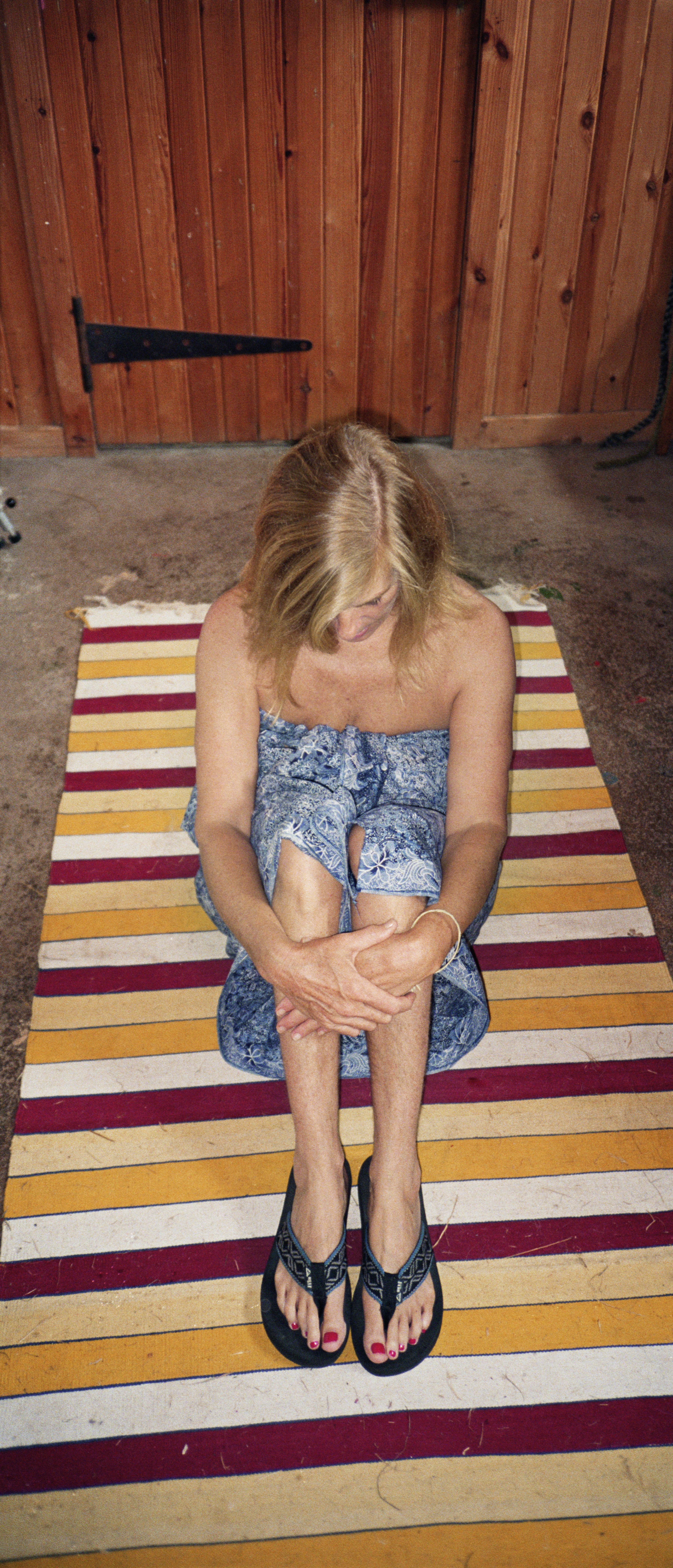 Mum Seated, Scotland, 1995