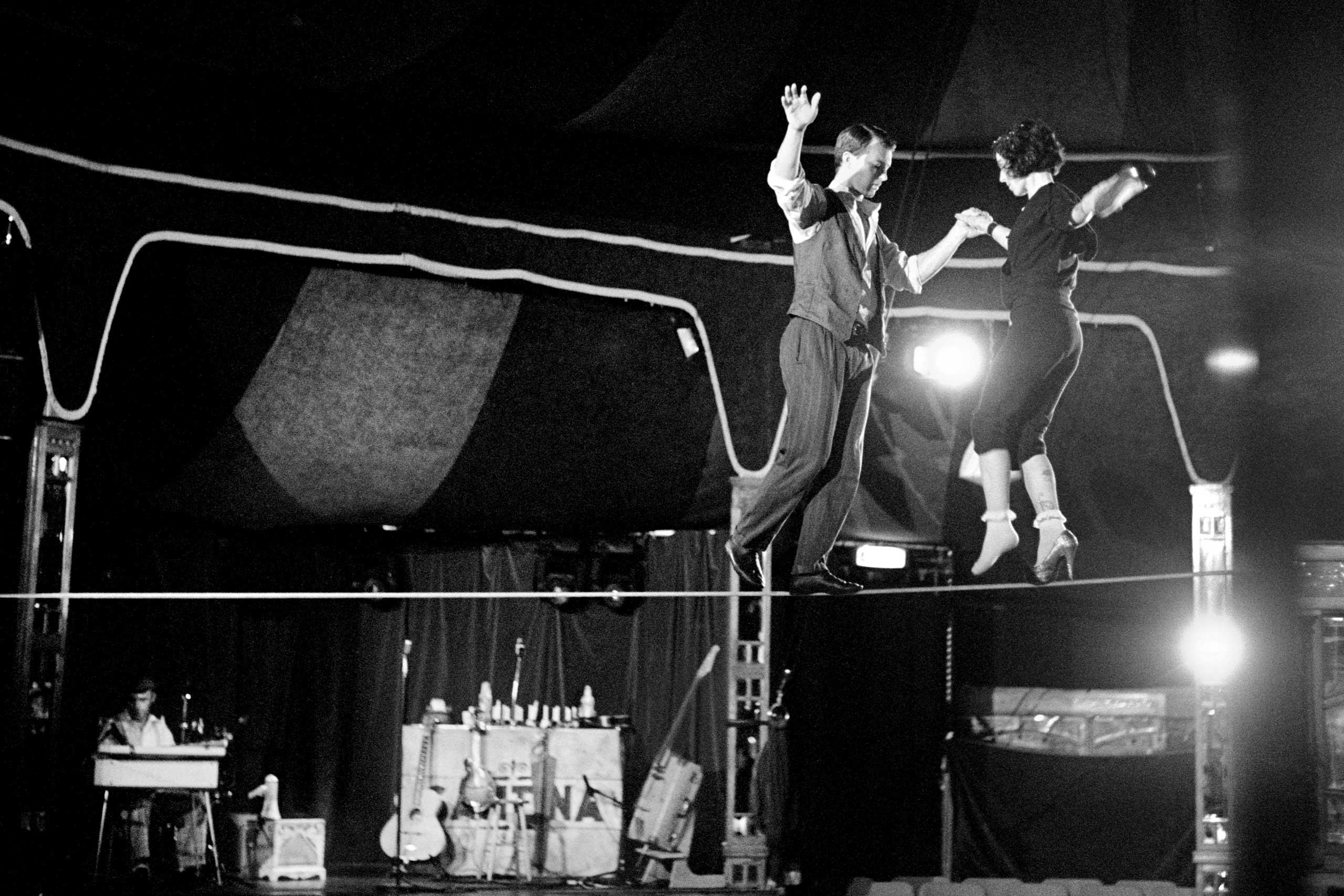 Dance on Tightrope, London, 2012