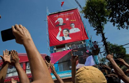 Myanmar Burma Elections Aung San Suu Kyi