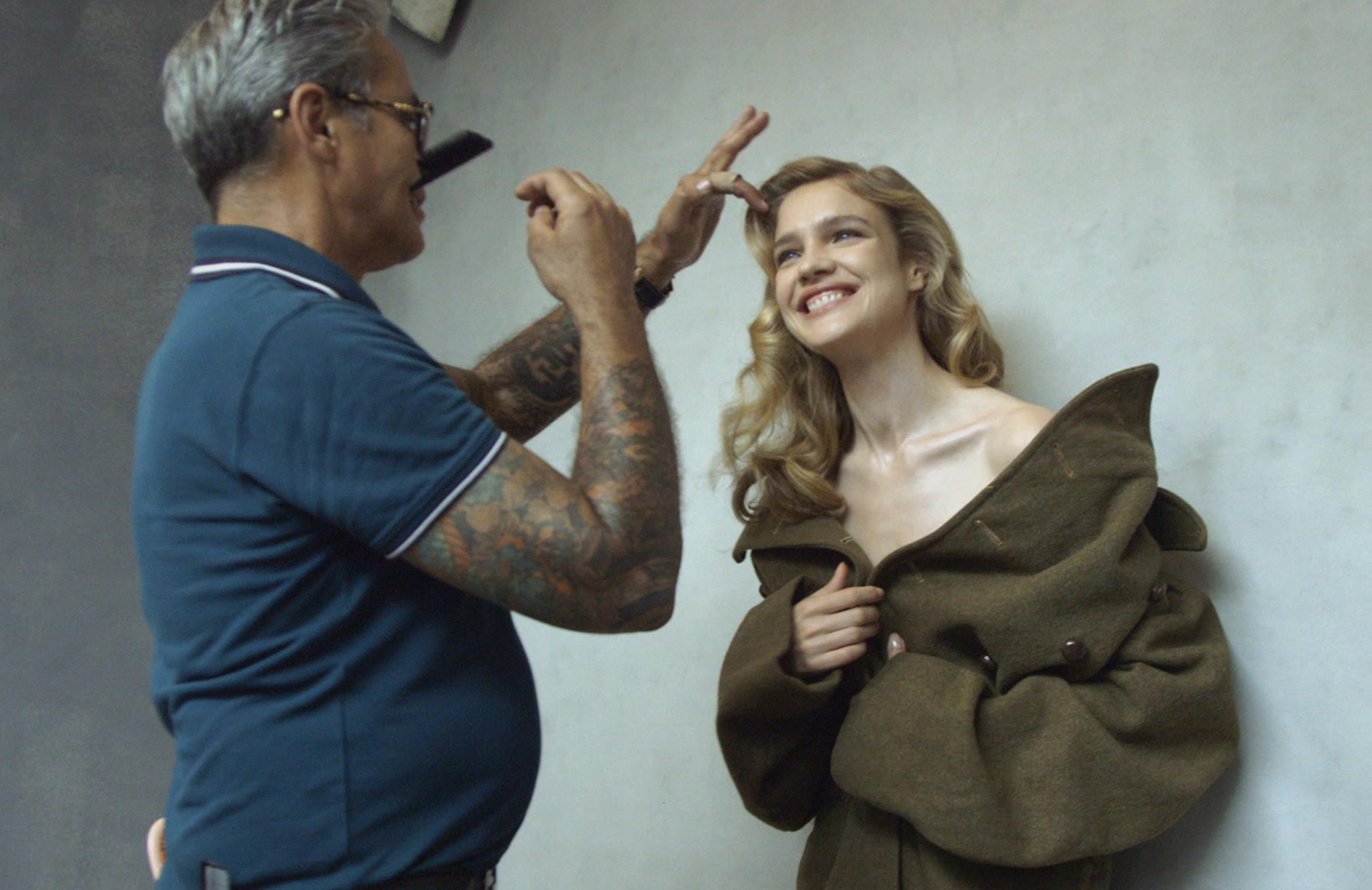 Model Natalia Vodianova.
