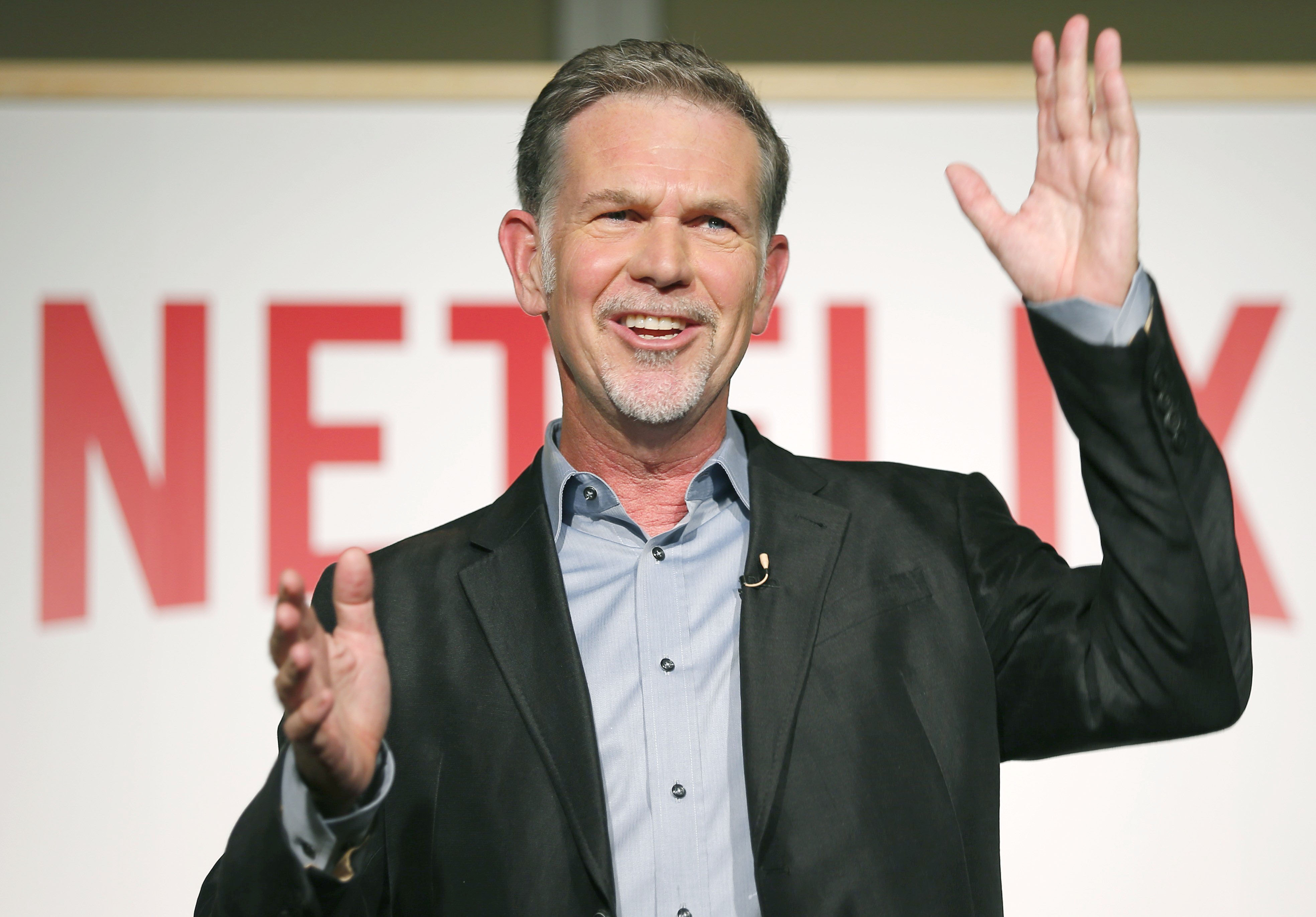 Netflix CEO Reed Hastings in Tokyo on Sept. 1, 2015.