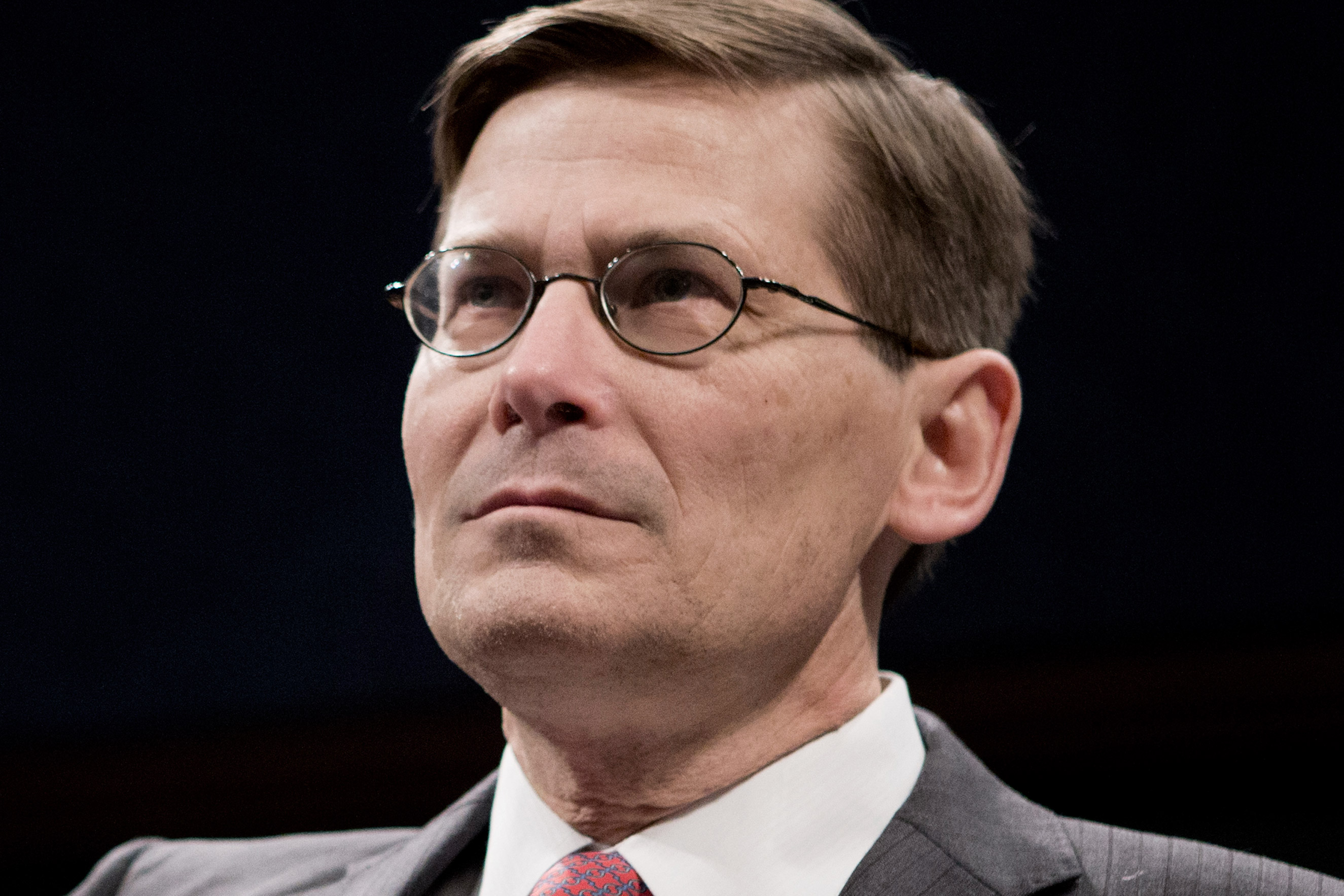 Former CIA Deputy Director Michael Morell on Capitol Hill in Washington on April 2, 2014.