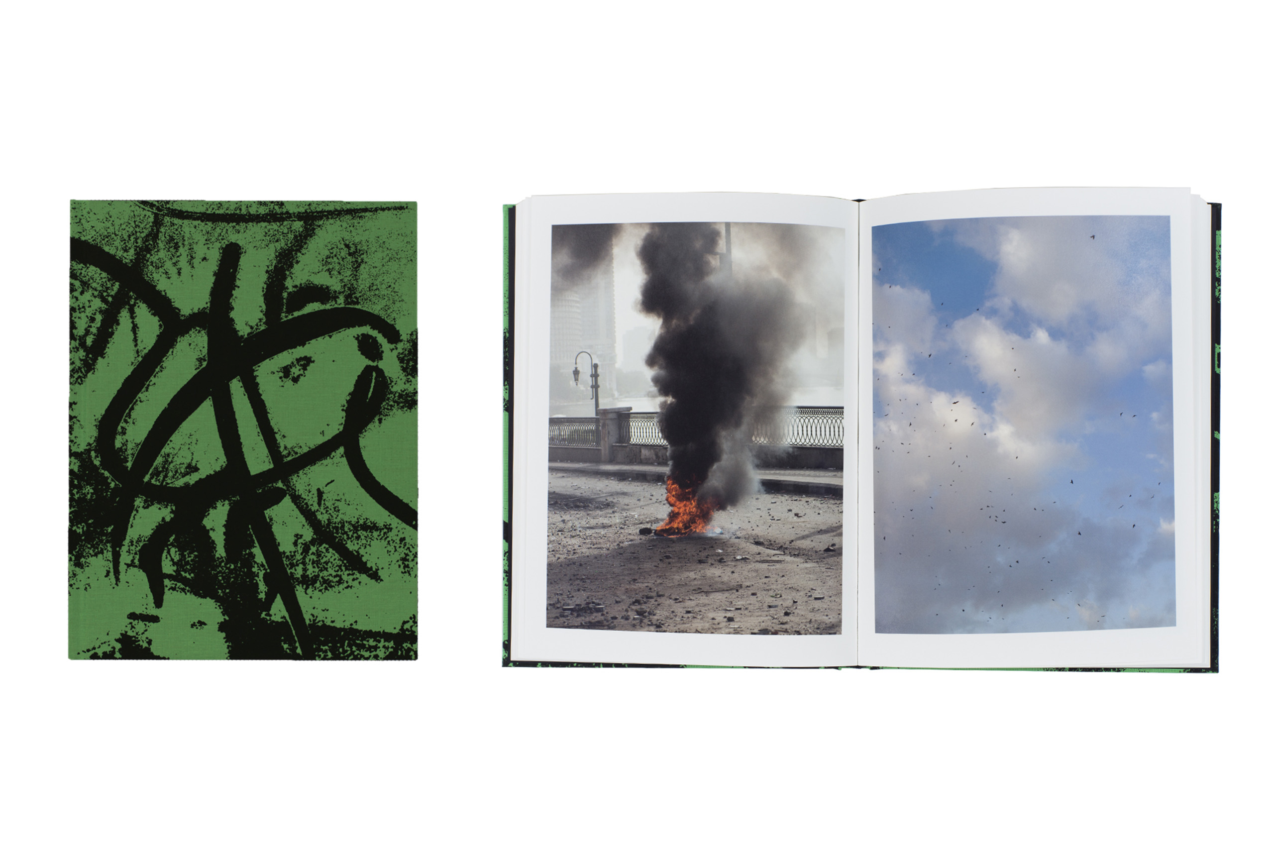 Fire in Cairo by Matthew Connors, published by SPBH Editions. Short-listed title for First PhotoBook.