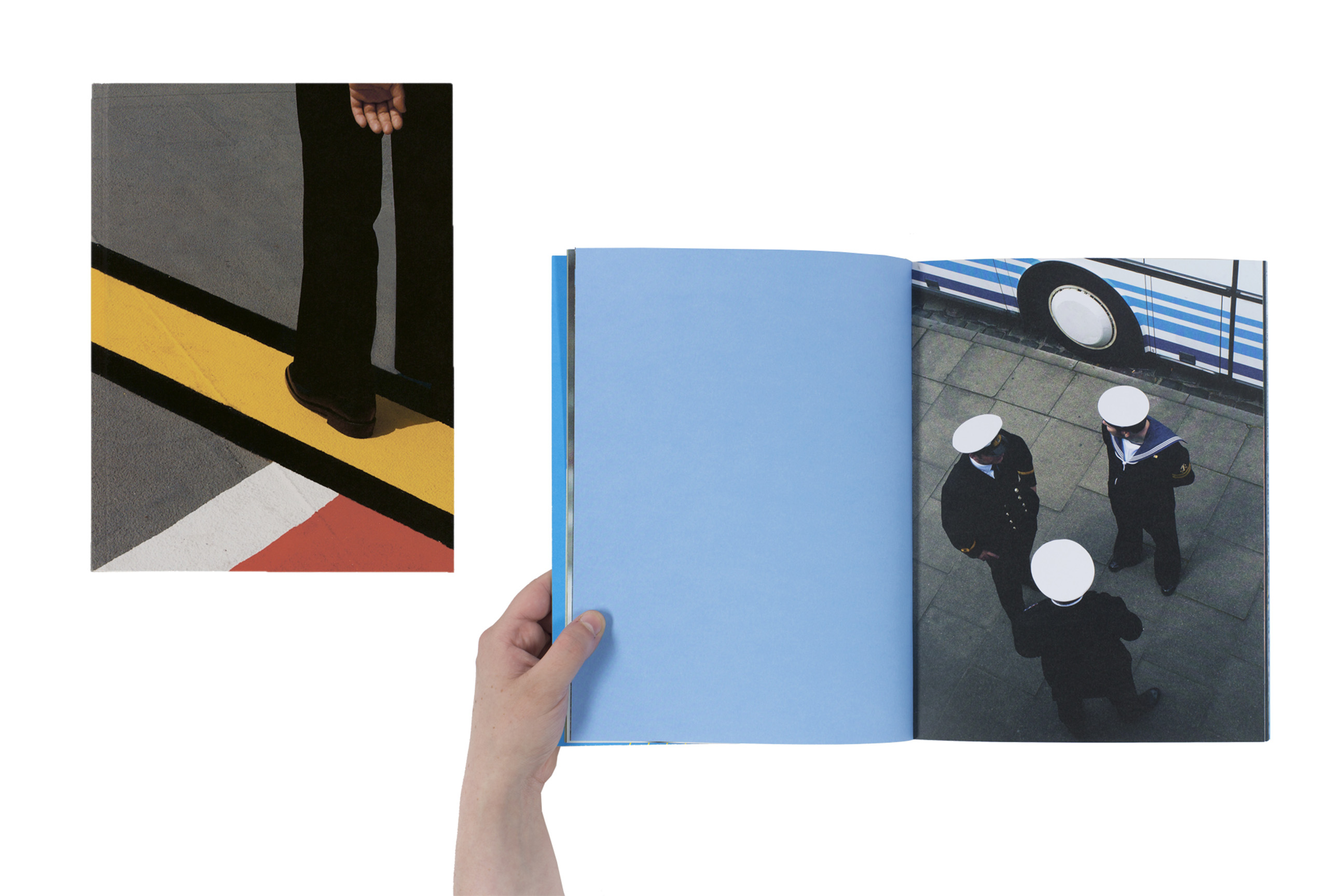 Hold the Line by Siegfried Hansen, published by Verlag Kettler. Short-listed title for First PhotoBook.