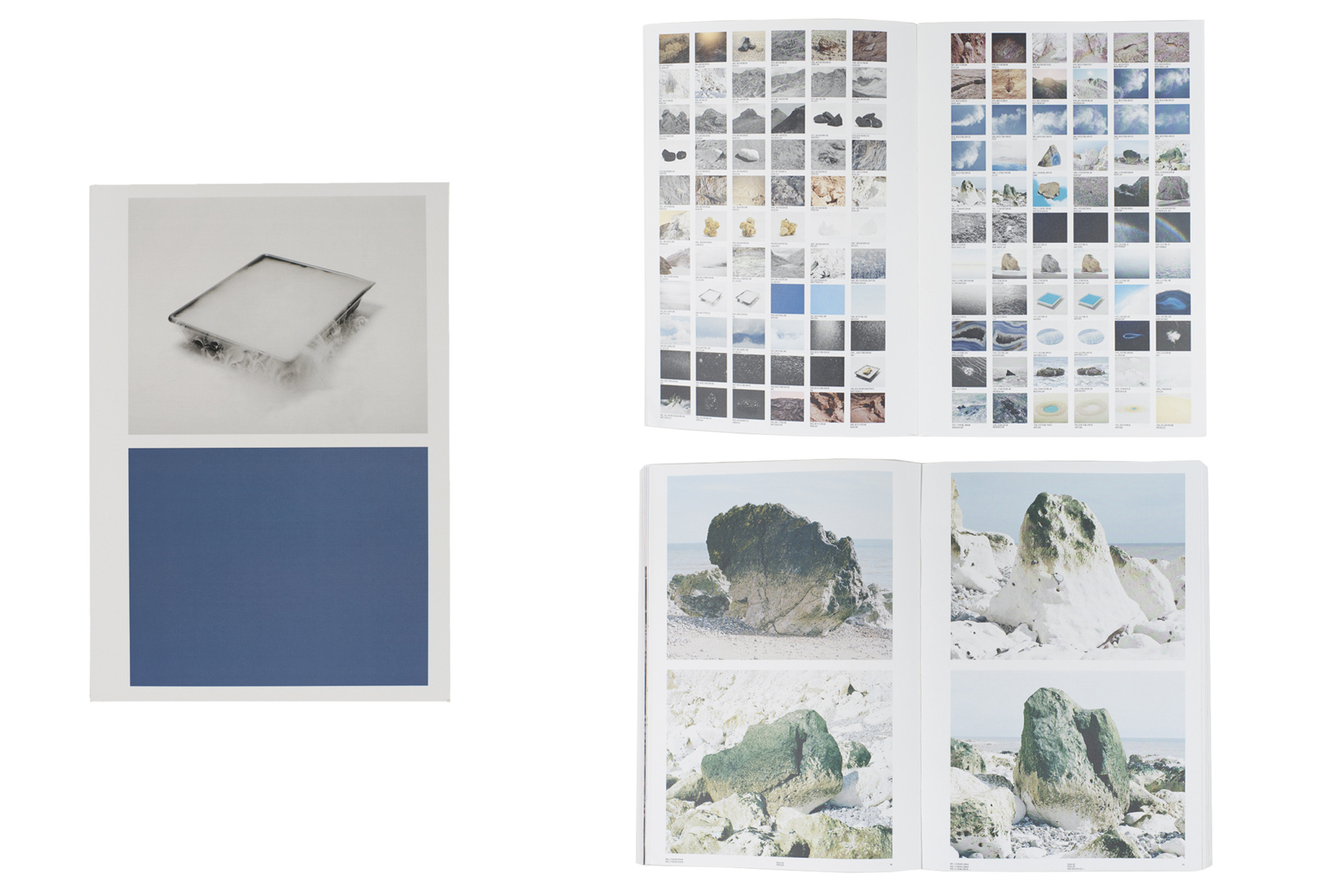 A Geological Index of the Landscape by Benoît Jeannet, Self-published. Short-listed title for First PhotoBook.