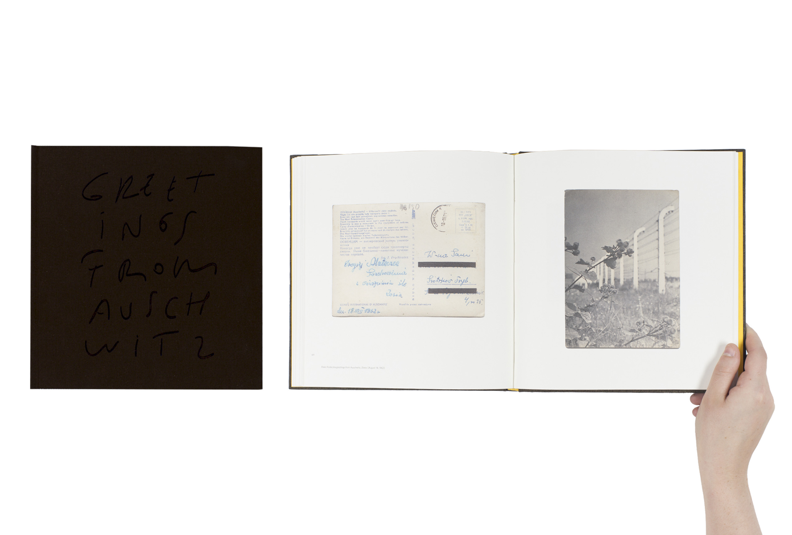 Greetings from Auschwitz by Paweł Szypulski, published by Edition Patrick Frey/Foundation for Visual Arts. Short-listed title for First PhotoBook.