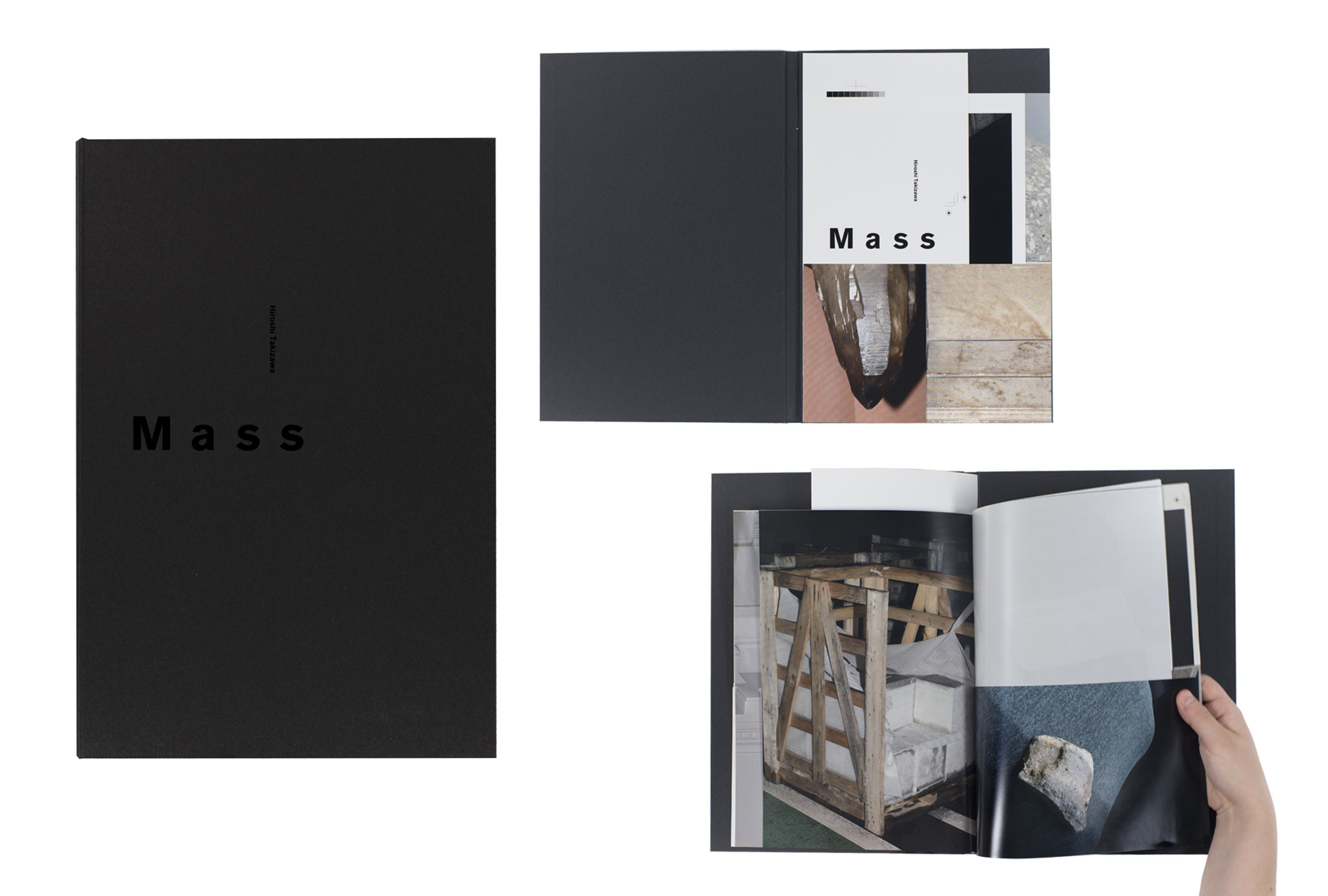 Mass by Hiroshi Takizawa, published by Newfave. Short-listed title for First PhotoBook.