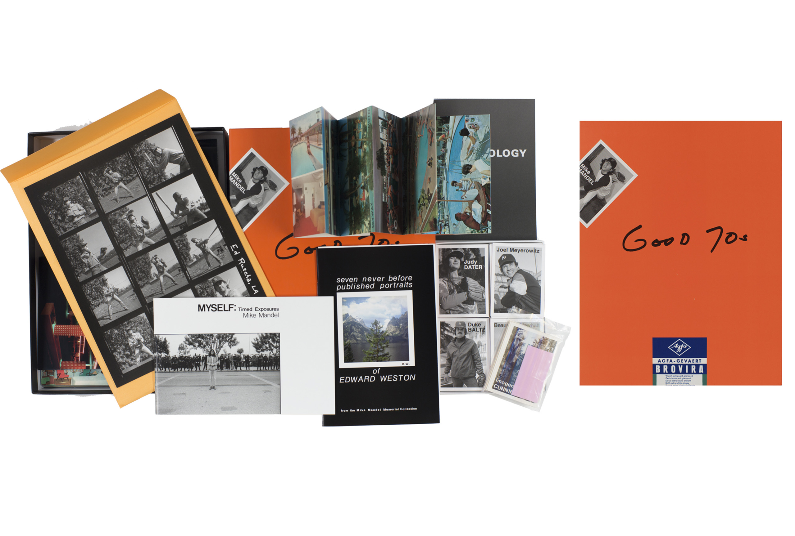 Good 70s by Mike Mandel, published by J&L Books/D.A.P.. Short-listed for PhotoBook of the Year.
