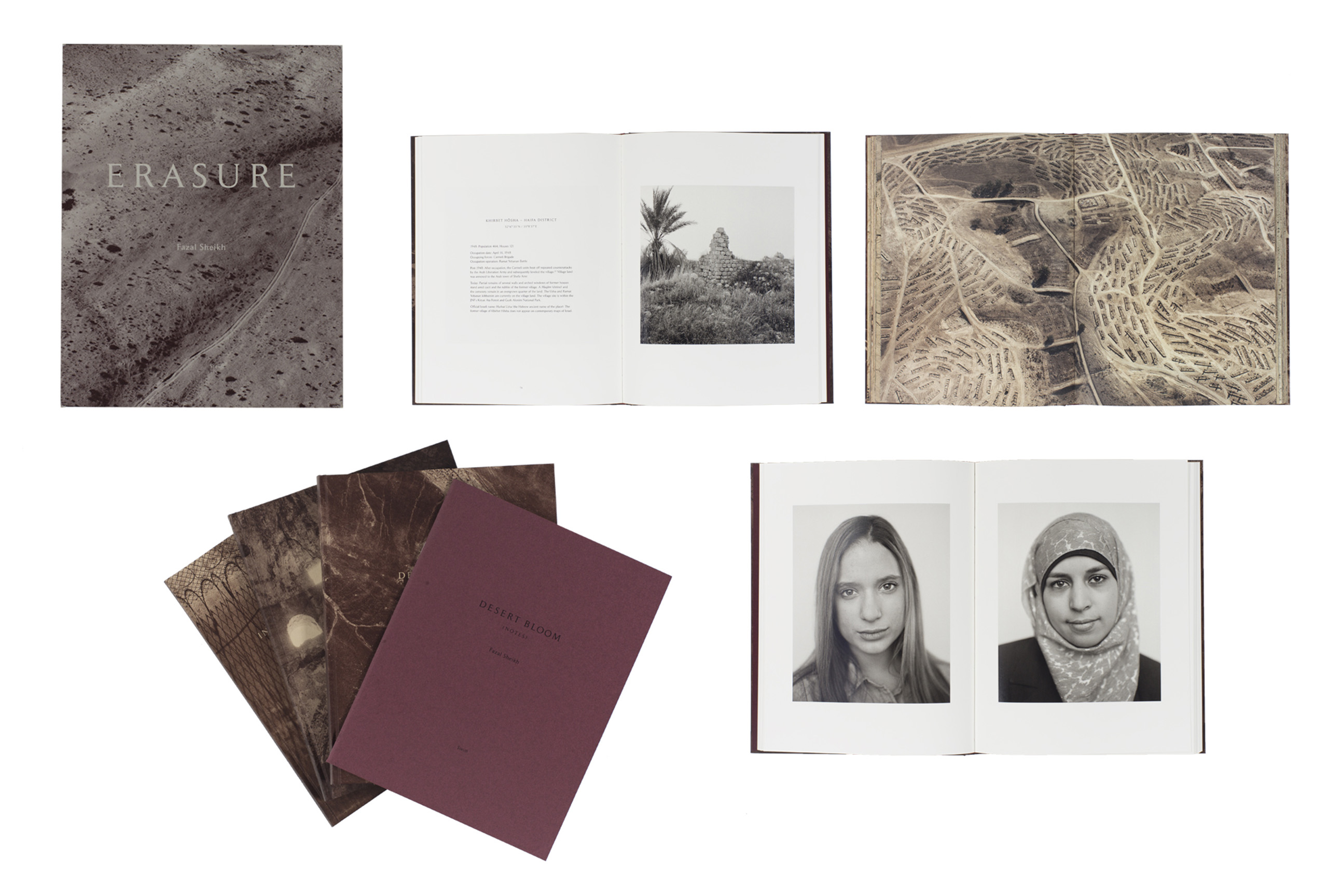 Erasure by Fazal Sheikh, published by Steidl. Short-listed for PhotoBook of the Year.