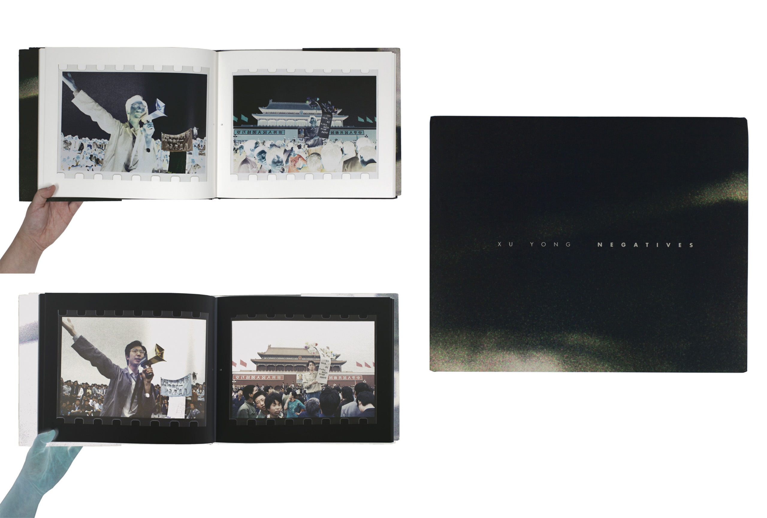 Negatives by Xu Yong published by New Century Press. Short-listed for PhotoBook of the Year.