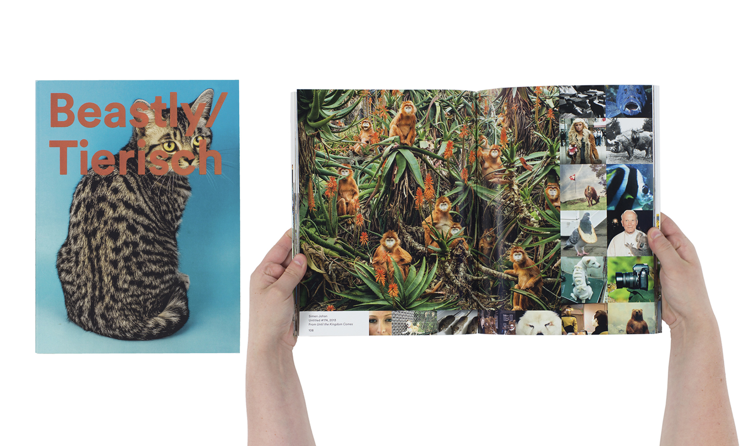 Beastly/Tierisch by Duncan Forbes, Matthias Gabi, and Daniela Janser, published by Spector Books/Fotomuseum Winterthur. Shortlisted for Photography Catalogue of the Year category.