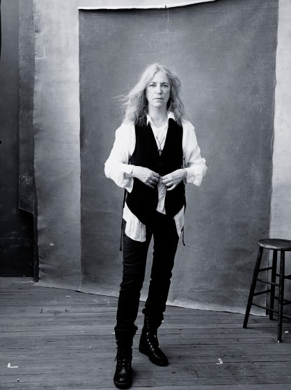 Patti Smith in the 2016 Pirelli Calendar.