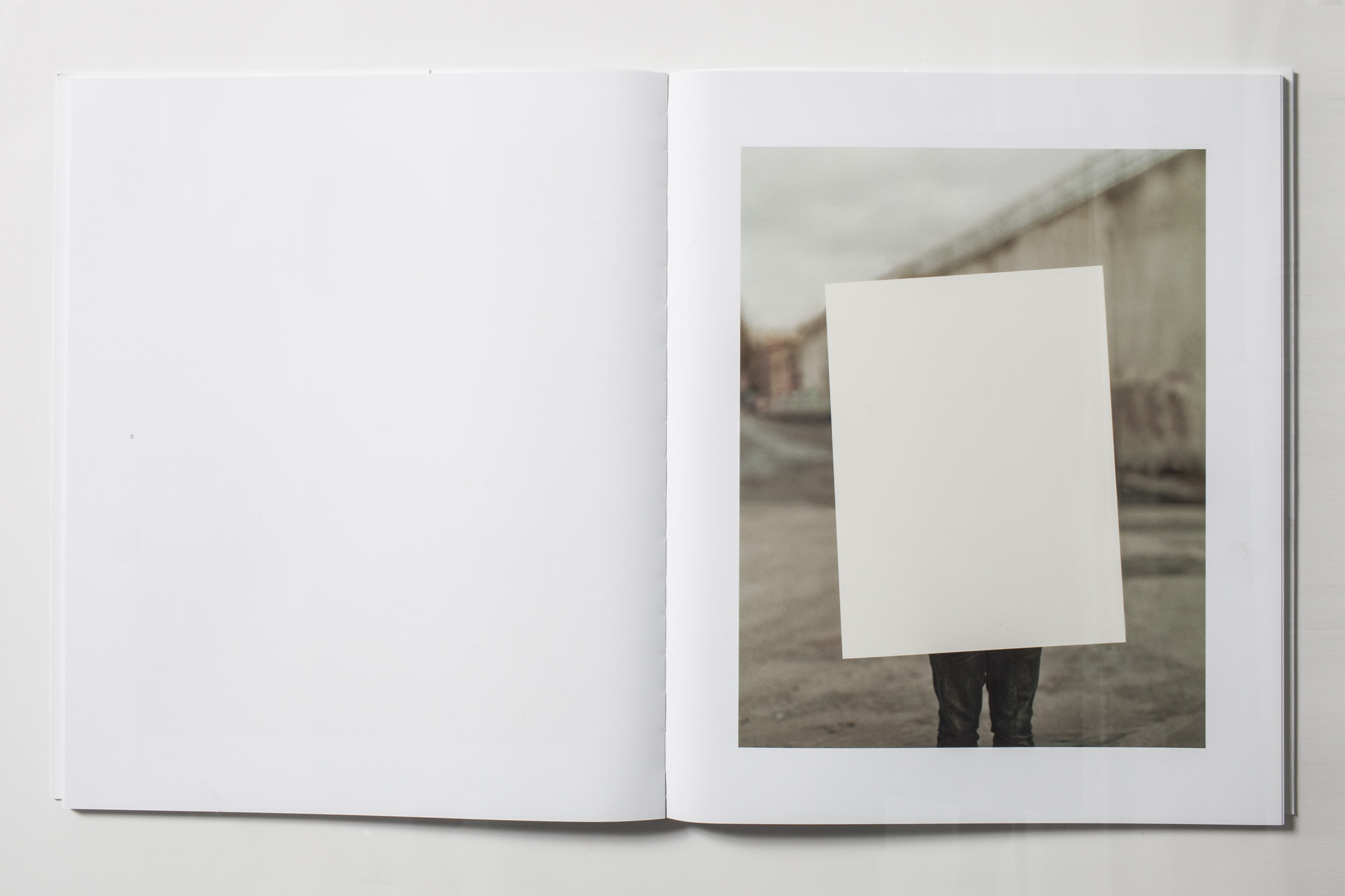 Selected by author and photography critic Philip Gefter:  They are photographs of a conceptual nature, all referring to a kind of Minimalist aesthetic, a frame within a frame, addressing the photographic plane on a truly perceptual level.
