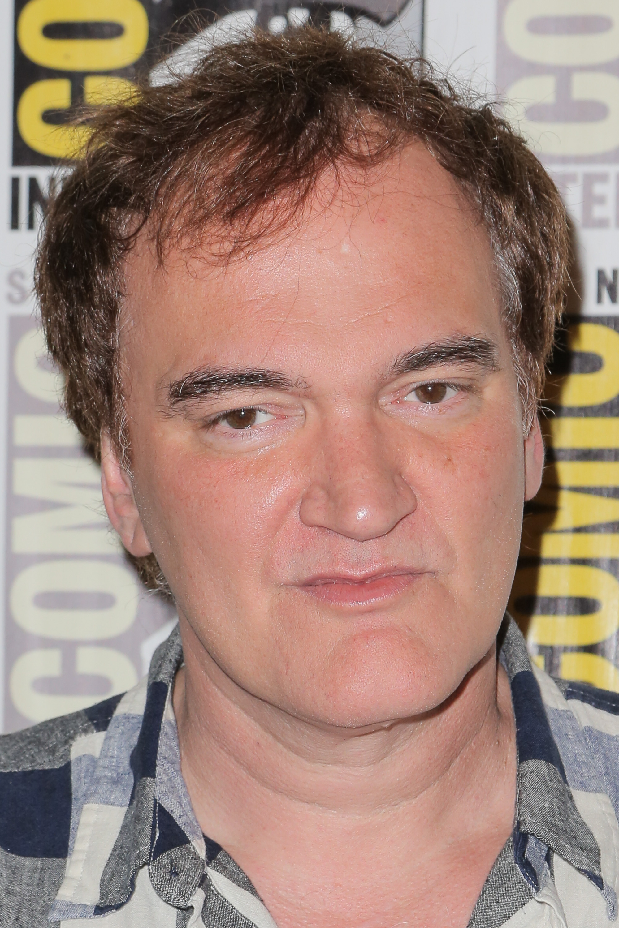 Quentin Tarantino at Comic Con International 2015 in San Diego on July 11, 2015.