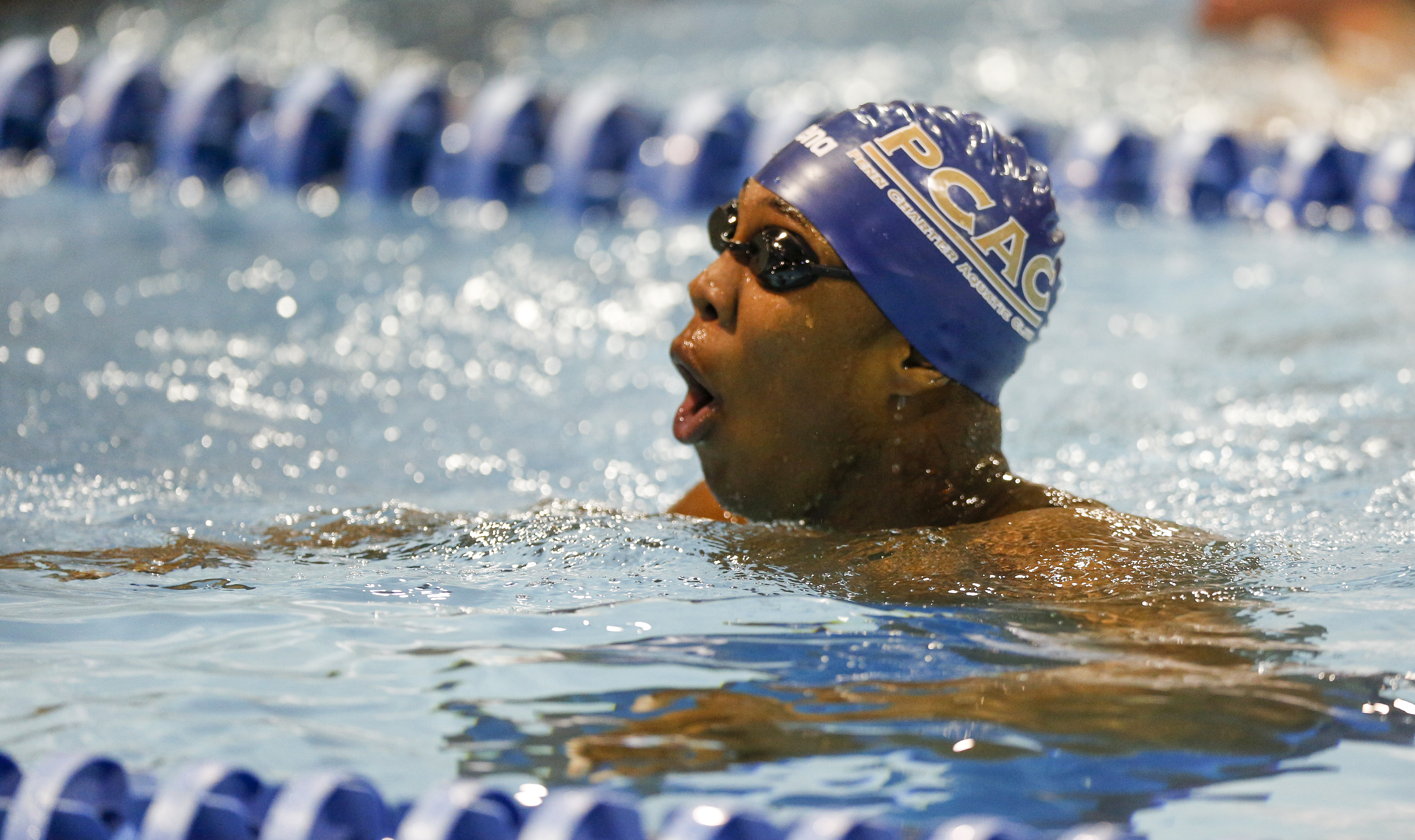 Reece Whitley at the Arena Pro Swim Series meet in Charlotte, N.C., on May 15, 2015.