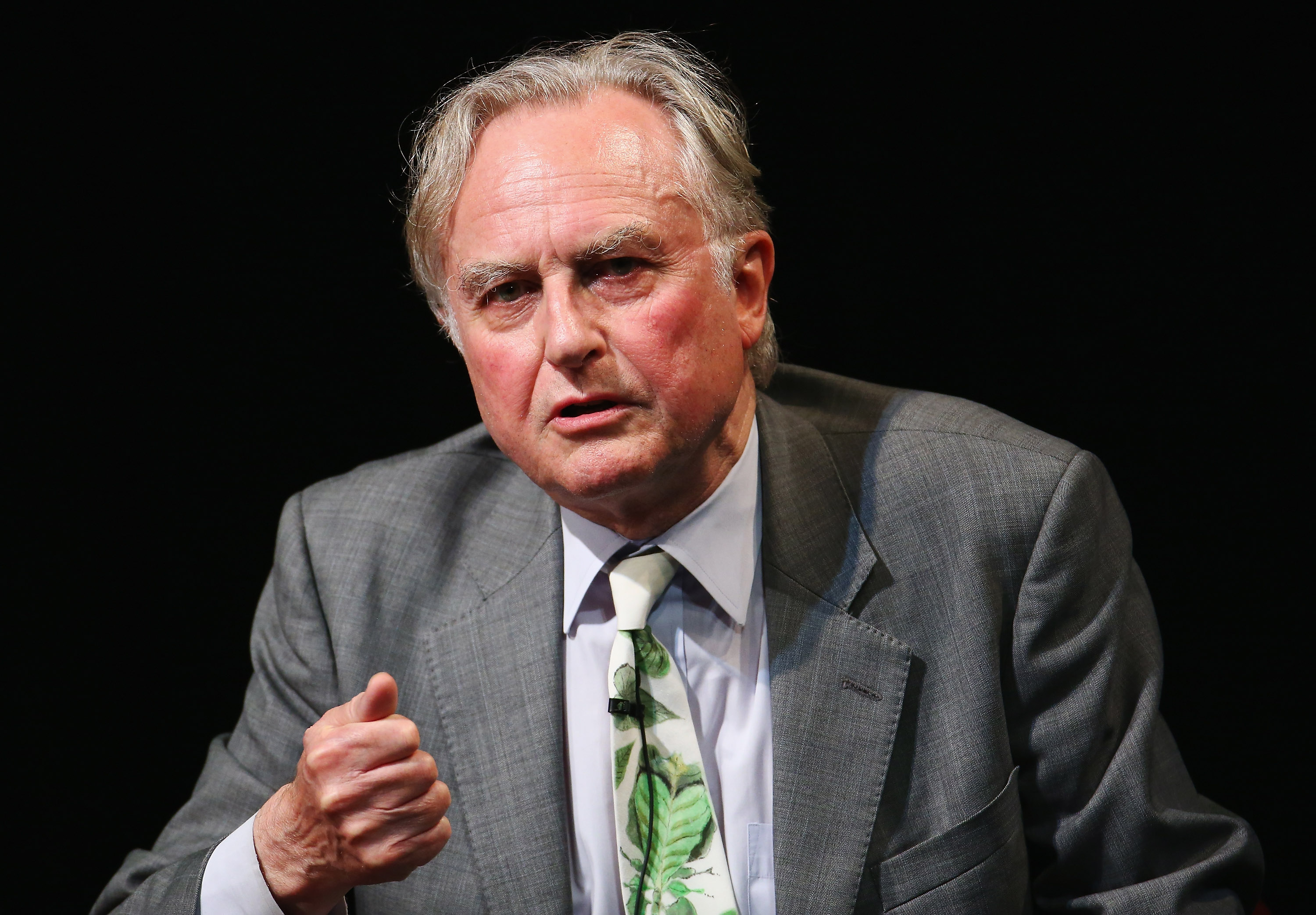 Richard Dawkins, founder of the Richard Dawkins Foundation for Reason and Science, promotes his new book at the Seymour Centre on December 4, 2014 in Sydney, Australia.