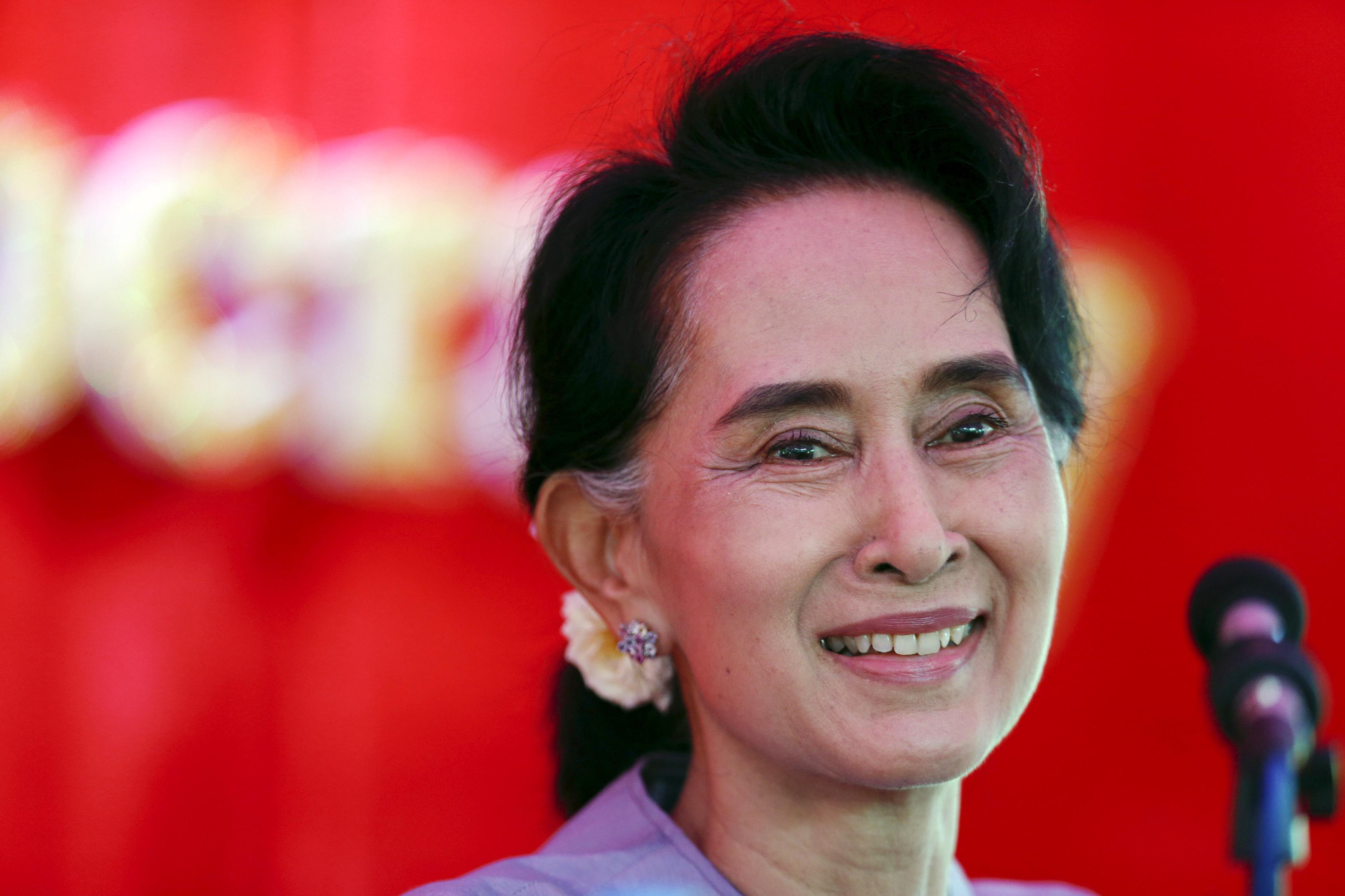 Burma: Aung San Suu Kyi 'Above President' if NLD Wins Polls   Time