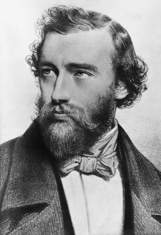 Adolphe Sax, pictured ca. 1842