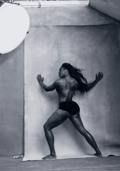 Serena Williams in the 2016 Pirelli Calendar.