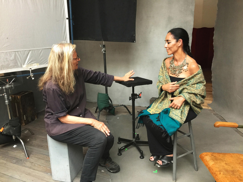 Annie Leibovitz and visual artist Shirin Neshat.